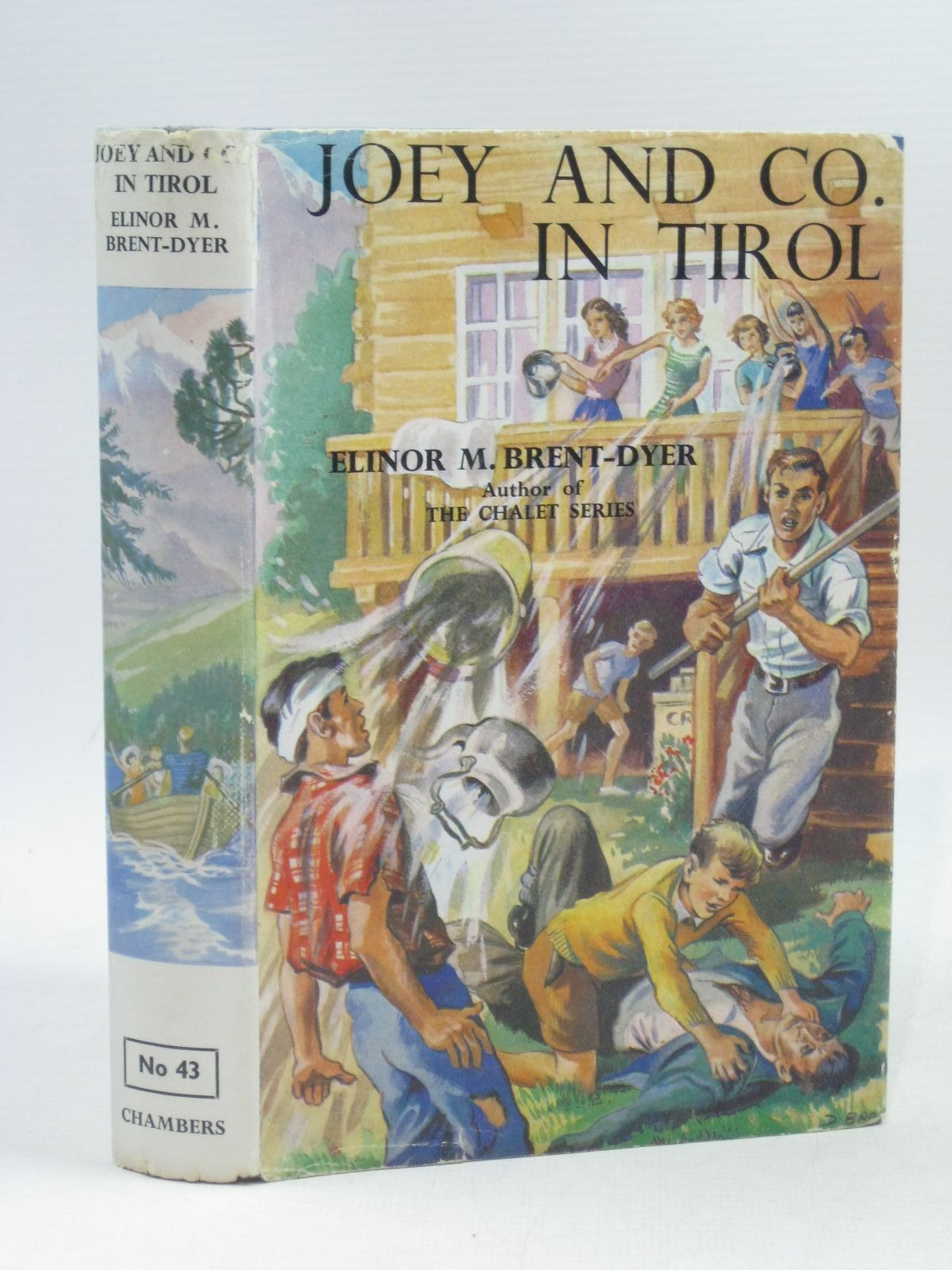 Photo of JOEY AND CO. IN TIROL written by Brent-Dyer, Elinor M. illustrated by Brook, D. published by W. & R. Chambers Limited (STOCK CODE: 1404197)  for sale by Stella & Rose's Books