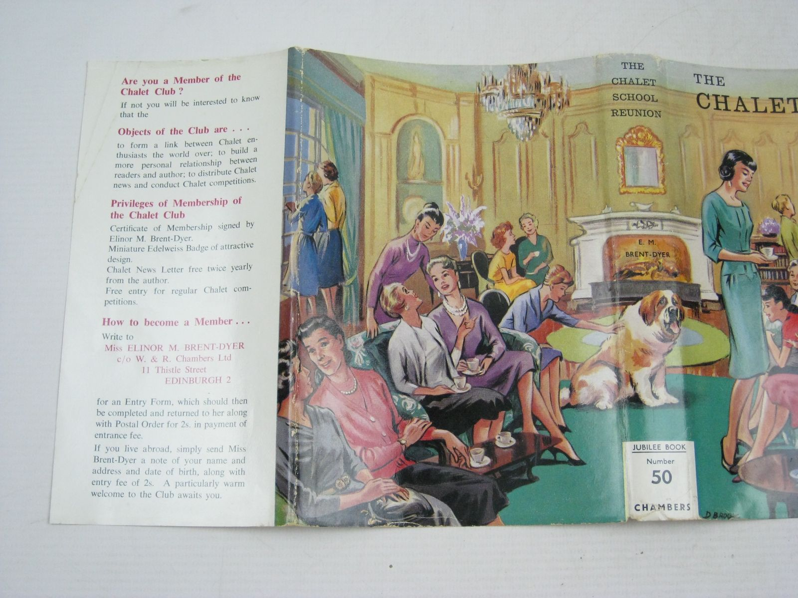 Photo of THE CHALET SCHOOL REUNION written by Brent-Dyer, Elinor M. illustrated by Brook, Dorothy published by W. & R. Chambers Limited (STOCK CODE: 1404247)  for sale by Stella & Rose's Books