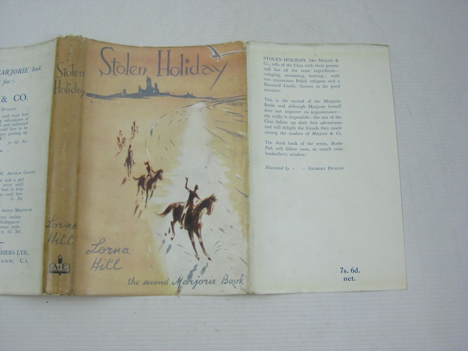 Photo of STOLEN HOLIDAY written by Hill, Lorna illustrated by Dunlop, Gilbert published by A. & E. Publishers Ltd. (STOCK CODE: 1404283)  for sale by Stella & Rose's Books