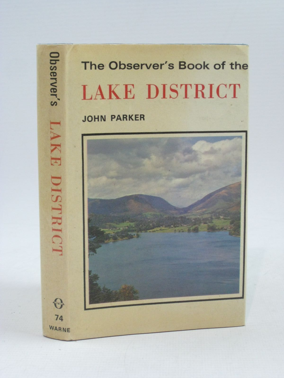 Photo of THE OBSERVER'S BOOK OF THE LAKE DISTRICT- Stock Number: 1404320