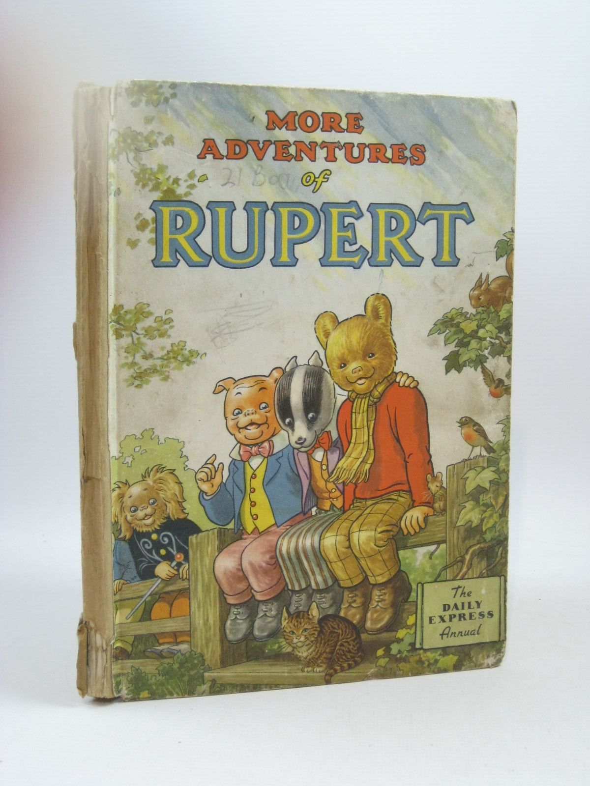 Photo of RUPERT ANNUAL 1953 - MORE ADVENTURES OF RUPERT written by Bestall, Alfred illustrated by Bestall, Alfred published by Daily Express (STOCK CODE: 1404356)  for sale by Stella & Rose's Books