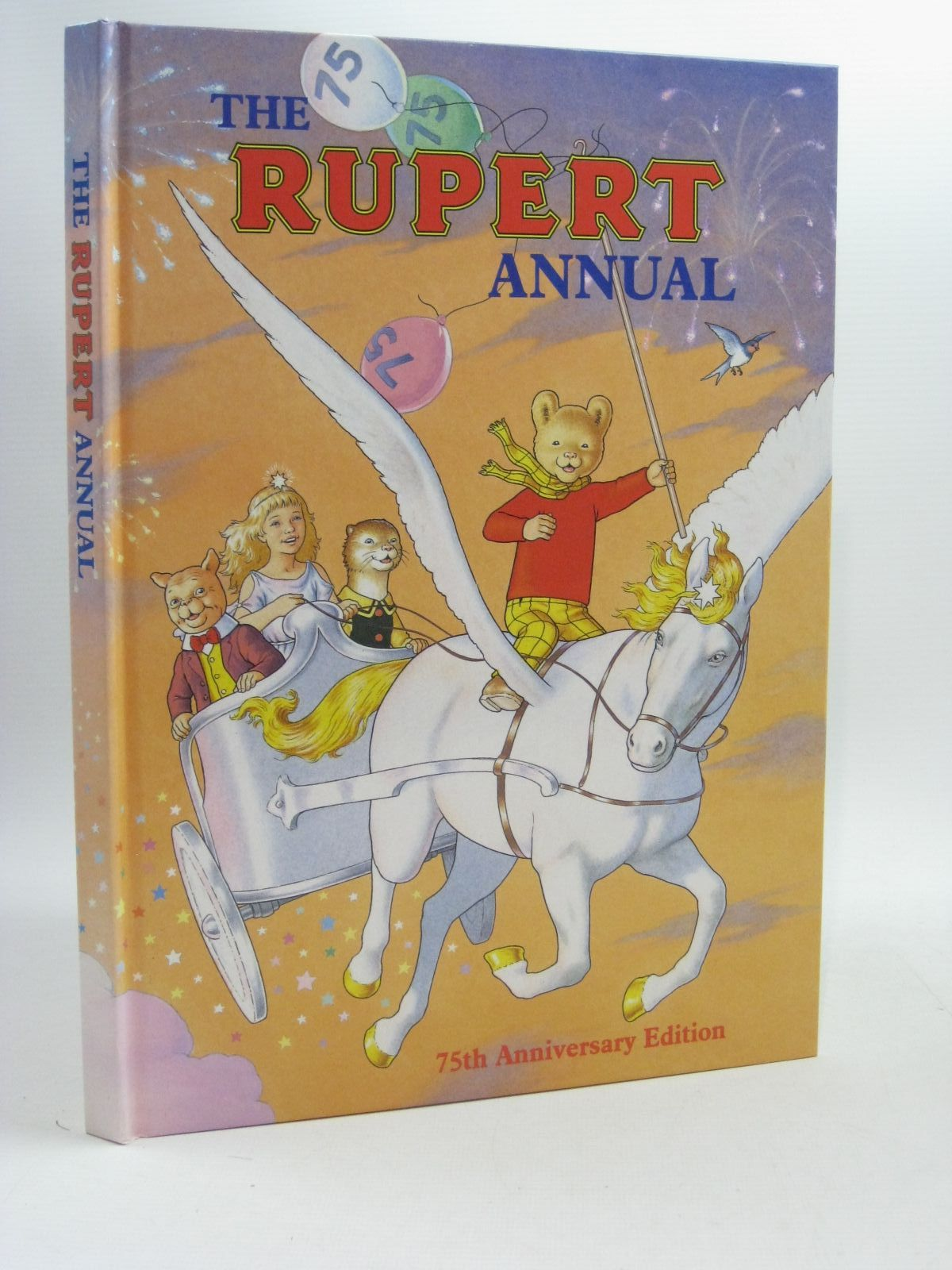 Photo of RUPERT ANNUAL 1995 written by Robinson, Ian illustrated by Harrold, John published by Pedigree Books Limited (STOCK CODE: 1404435)  for sale by Stella & Rose's Books