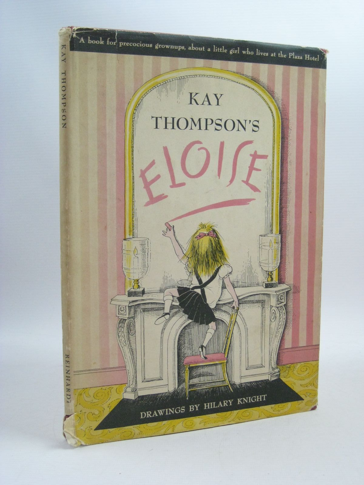 Photo of ELOISE written by Thompson, Kay illustrated by Knight, Hilary published by Max Reinhardt (STOCK CODE: 1404469)  for sale by Stella & Rose's Books