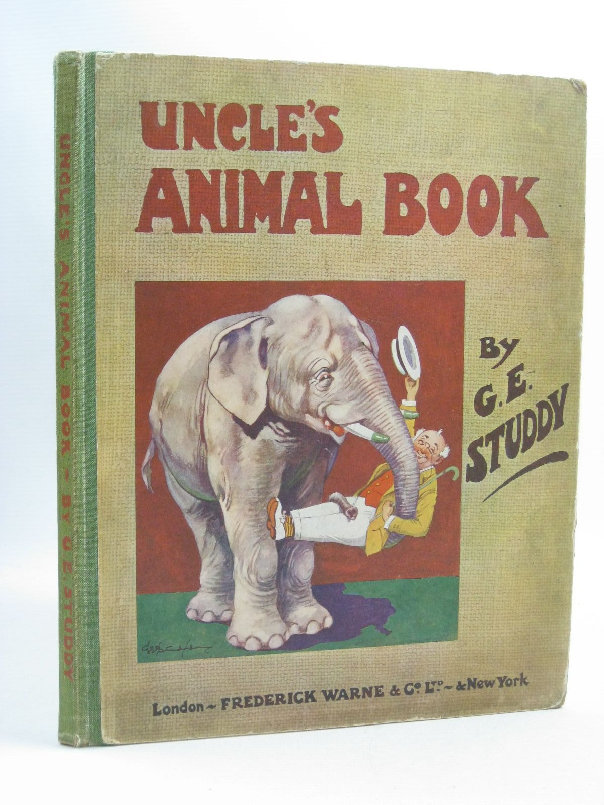 Photo of UNCLE'S ANIMAL BOOK- Stock Number: 1404566