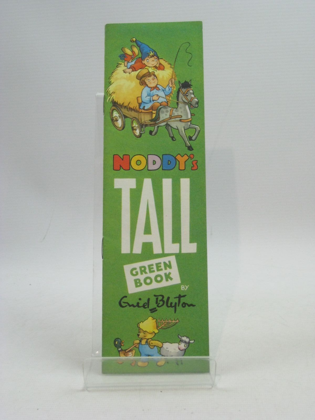 Photo of NODDY'S TALL GREEN BOOK- Stock Number: 1404594