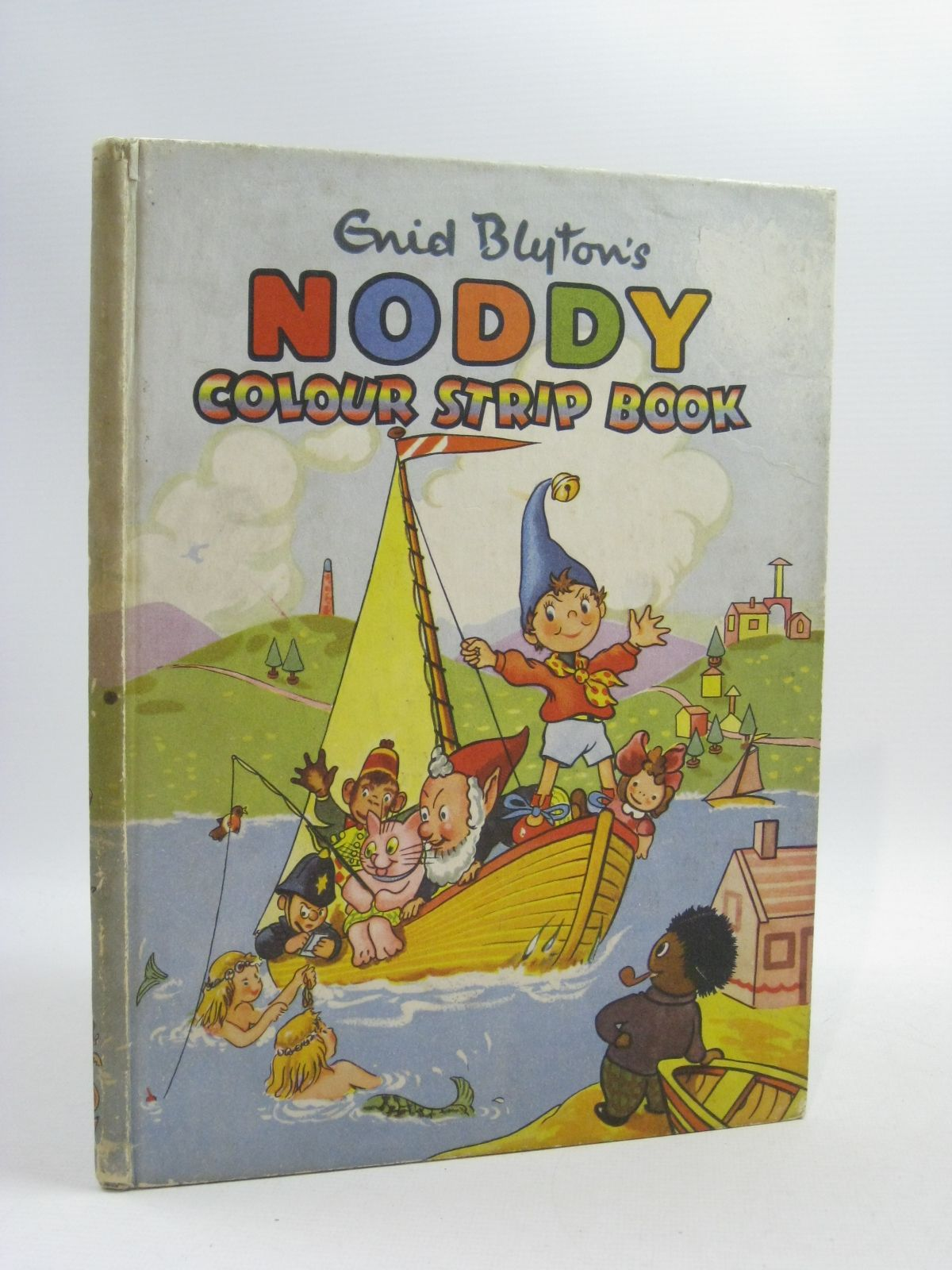 Photo of ENID BLYTON'S NODDY COLOUR STRIP BOOK written by Blyton, Enid illustrated by Beek,  published by Sampson Low, Marston & Co. Ltd. (STOCK CODE: 1404607)  for sale by Stella & Rose's Books