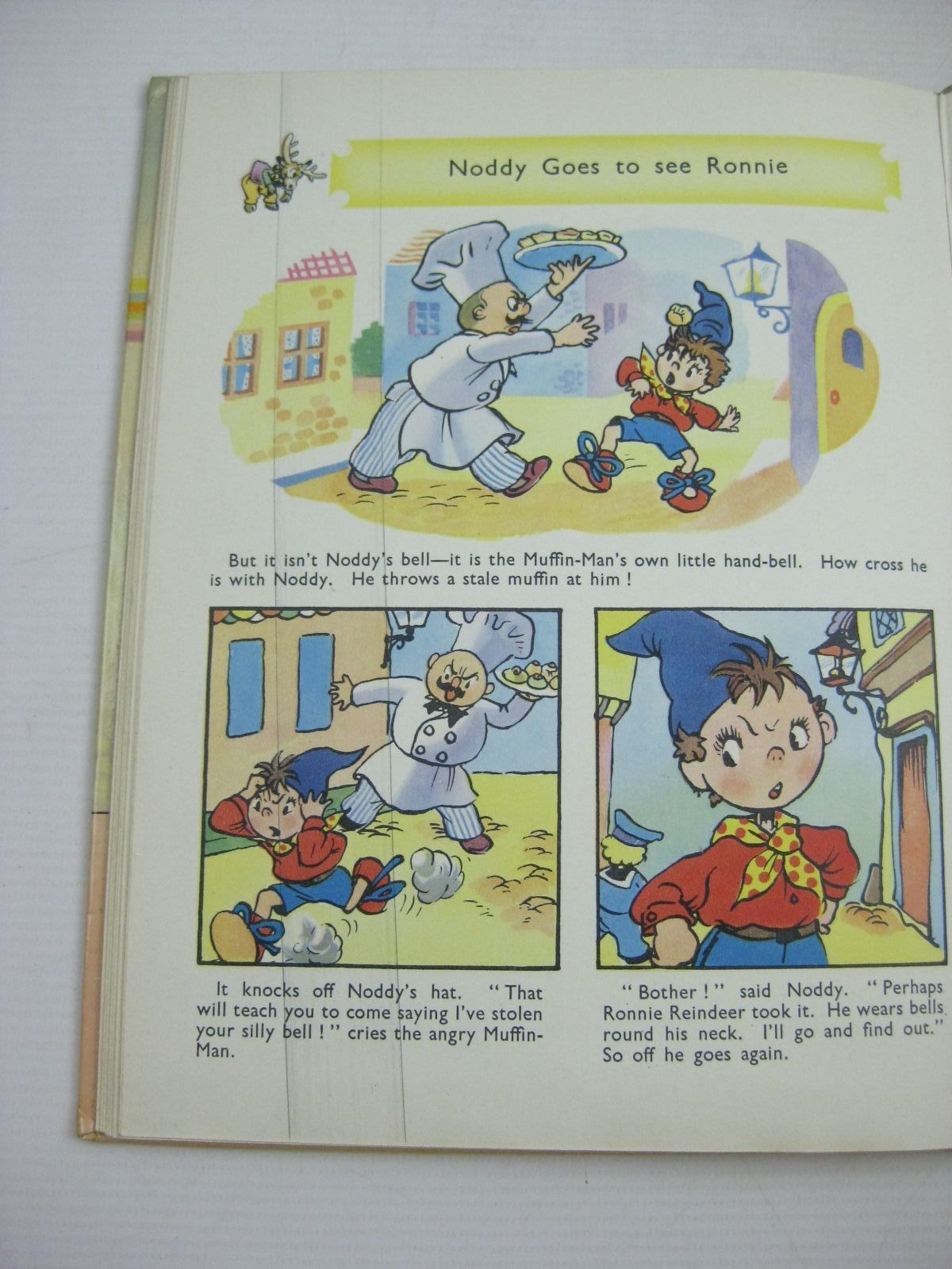 Photo of ENID BLYTON'S NEW NODDY COLOUR STRIP BOOK written by Blyton, Enid illustrated by Beek,  published by Sampson Low, Marston & Co. Ltd. (STOCK CODE: 1404608)  for sale by Stella & Rose's Books