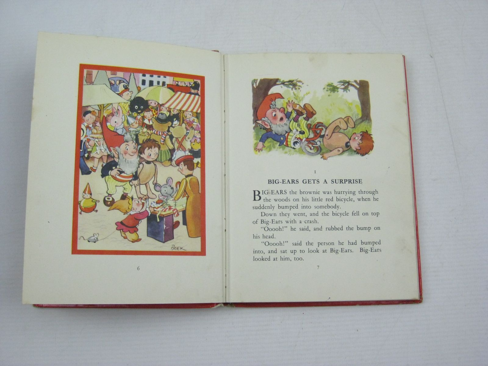Photo of NODDY GOES TO TOYLAND written by Blyton, Enid illustrated by Beek,  published by Sampson Low, Marston & Co. Ltd. (STOCK CODE: 1404621)  for sale by Stella & Rose's Books