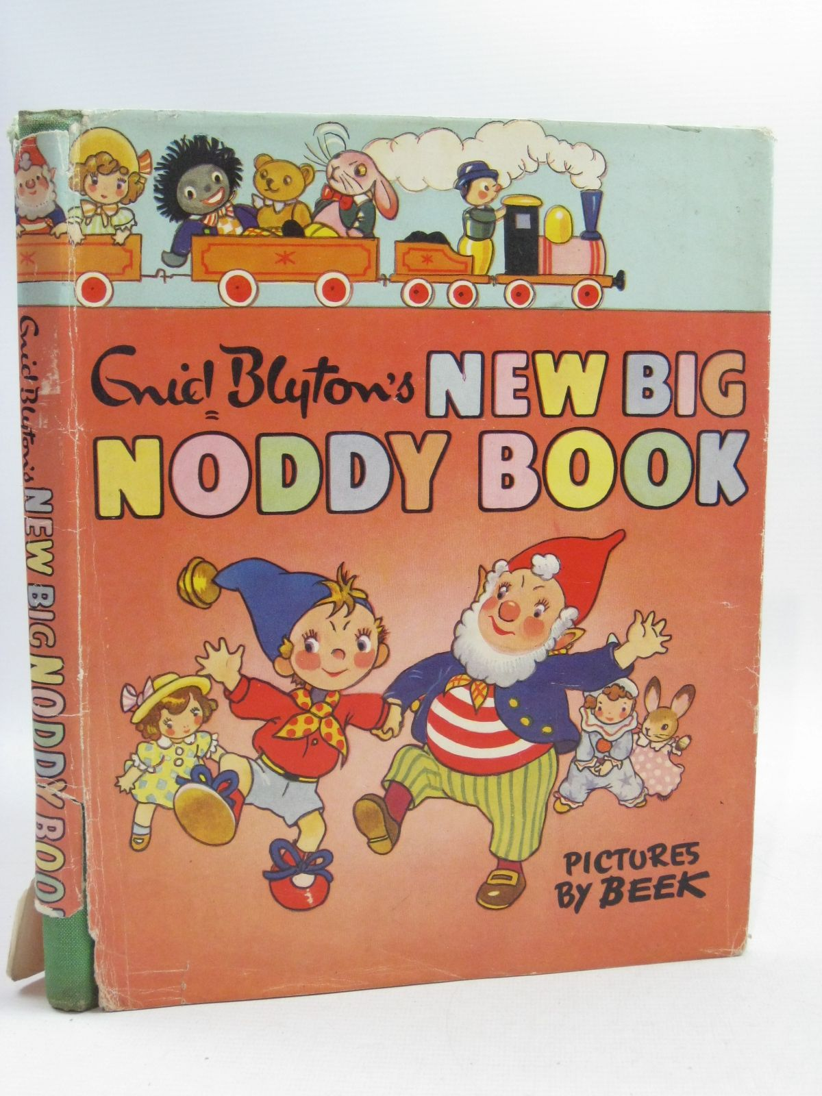 Photo of THE NEW BIG NODDY BOOK written by Blyton, Enid illustrated by Beek,  published by Sampson Low, Marston & Co. Ltd., C.A. Publications Ltd. (STOCK CODE: 1404641)  for sale by Stella & Rose's Books