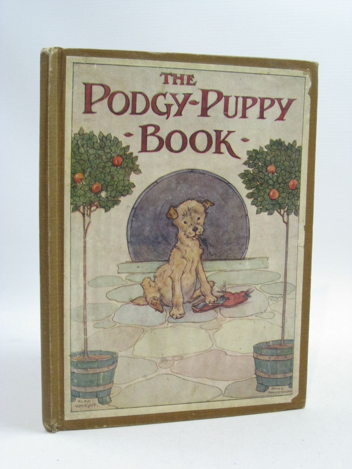 Photo of THE PODGY-PUPPY BOOK written by Dennis, Clara G. illustrated by Wright, Alan Anderson, Anne published by Thomas Nelson and Sons Ltd. (STOCK CODE: 1404650)  for sale by Stella & Rose's Books