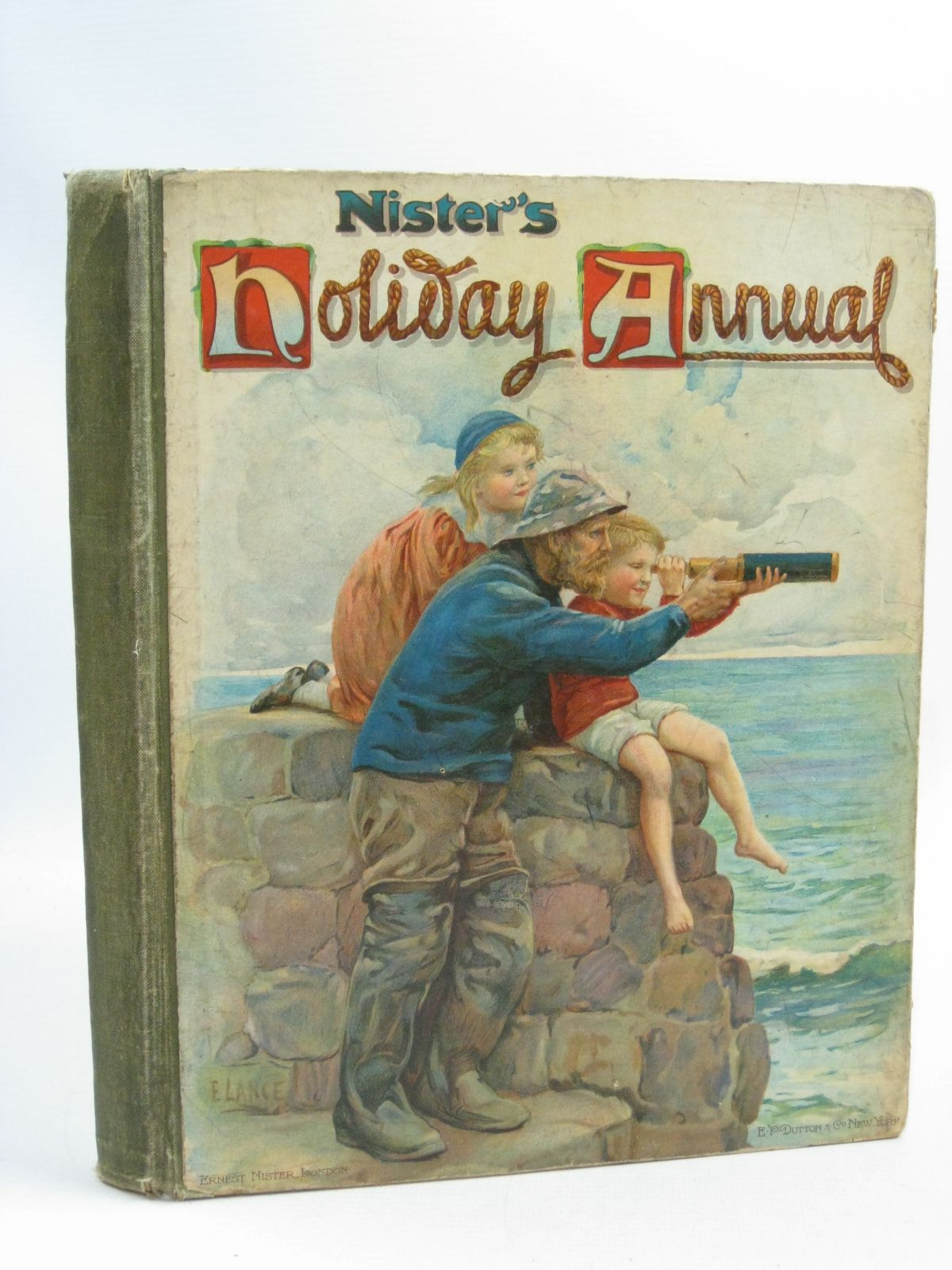 Photo of NISTER'S HOLIDAY ANNUAL FOR 1907 written by Playne, Alfred C.<br />Fenn, George Manville<br />Bingham, Clifton<br />et al, illustrated by Hardy, E. Stuart<br />Cubitt, Edith A.<br />et al., published by Ernest Nister, E.P. Dutton &amp; Co. (STOCK CODE: 1404723)  for sale by Stella & Rose's Books