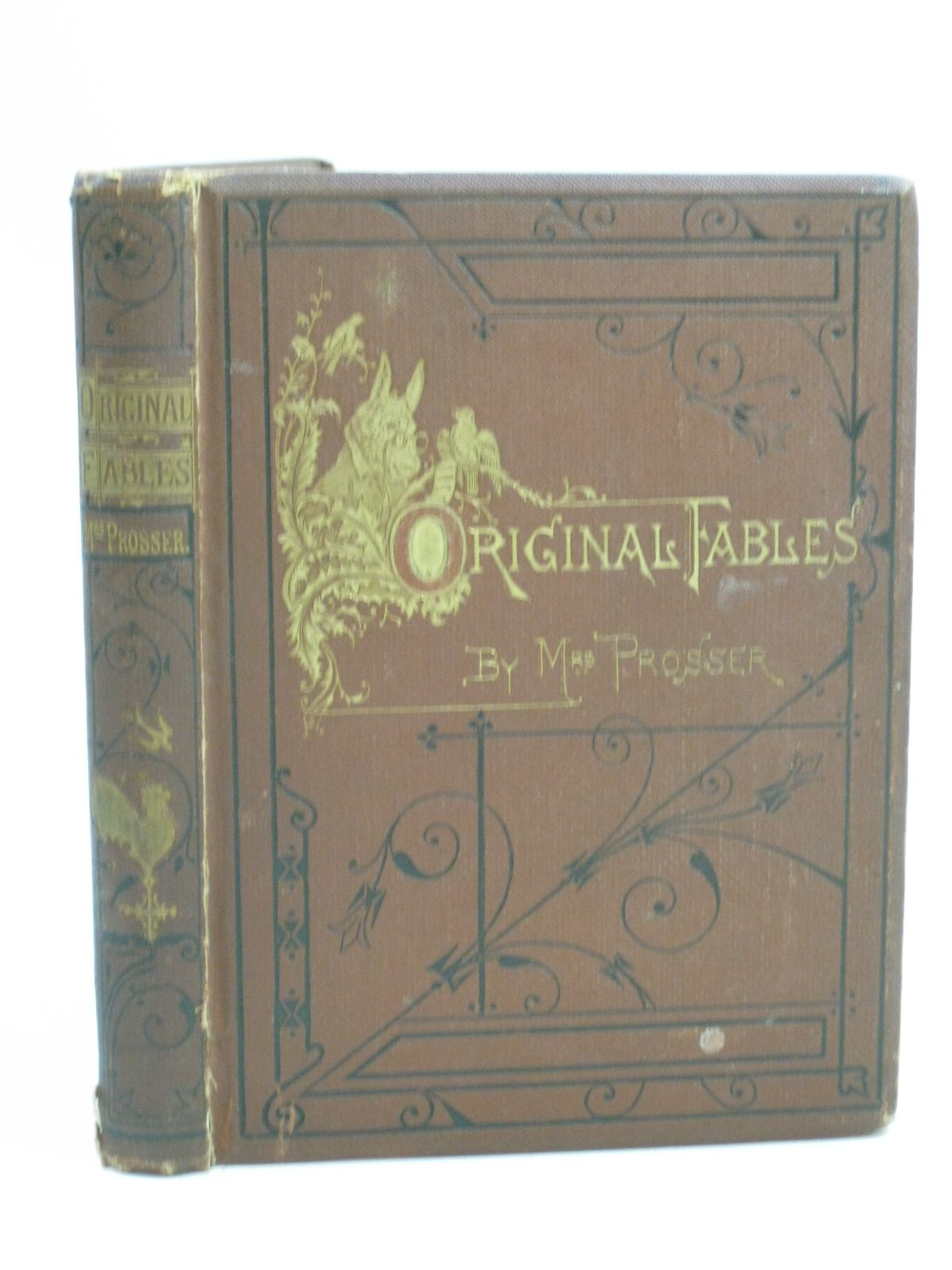 Photo of ORIGINAL FABLES written by Prosser, Mrs. illustrated by Griset, Ernest