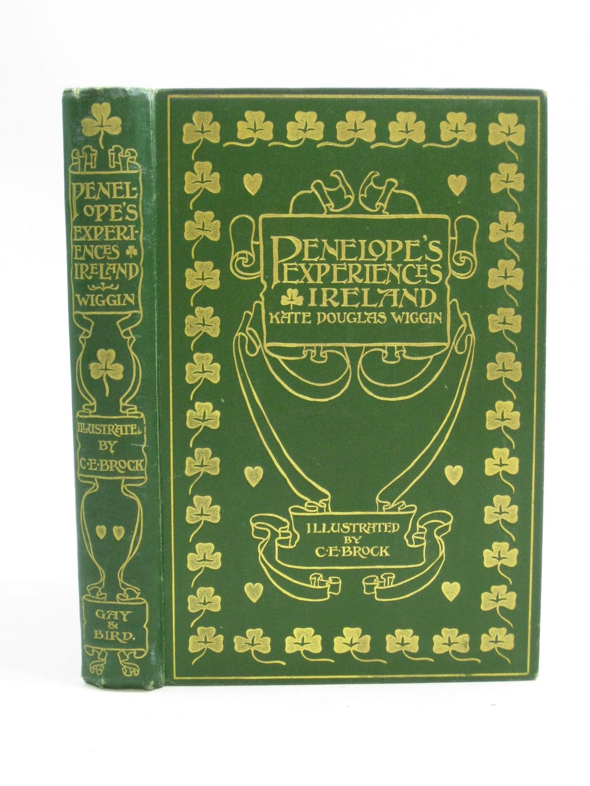 Photo of PENELOPE'S IRISH EXPERIENCES written by Wiggin, Kate Douglas illustrated by Brock, C.E. published by Gay and Bird (STOCK CODE: 1404741)  for sale by Stella & Rose's Books