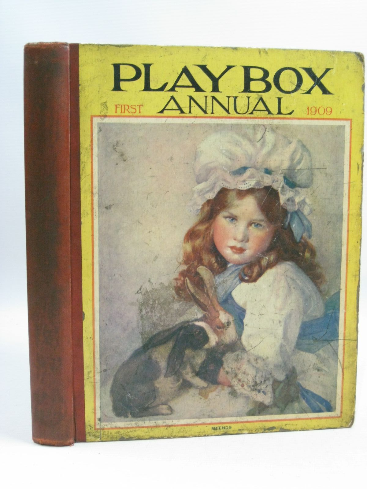 Photo of PLAYBOX ANNUAL 1909 illustrated by Wain, Louis Attwell, Mabel Lucie Folkard, Charles et al., published by The Amalgamated Press Limited (STOCK CODE: 1404793)  for sale by Stella & Rose's Books
