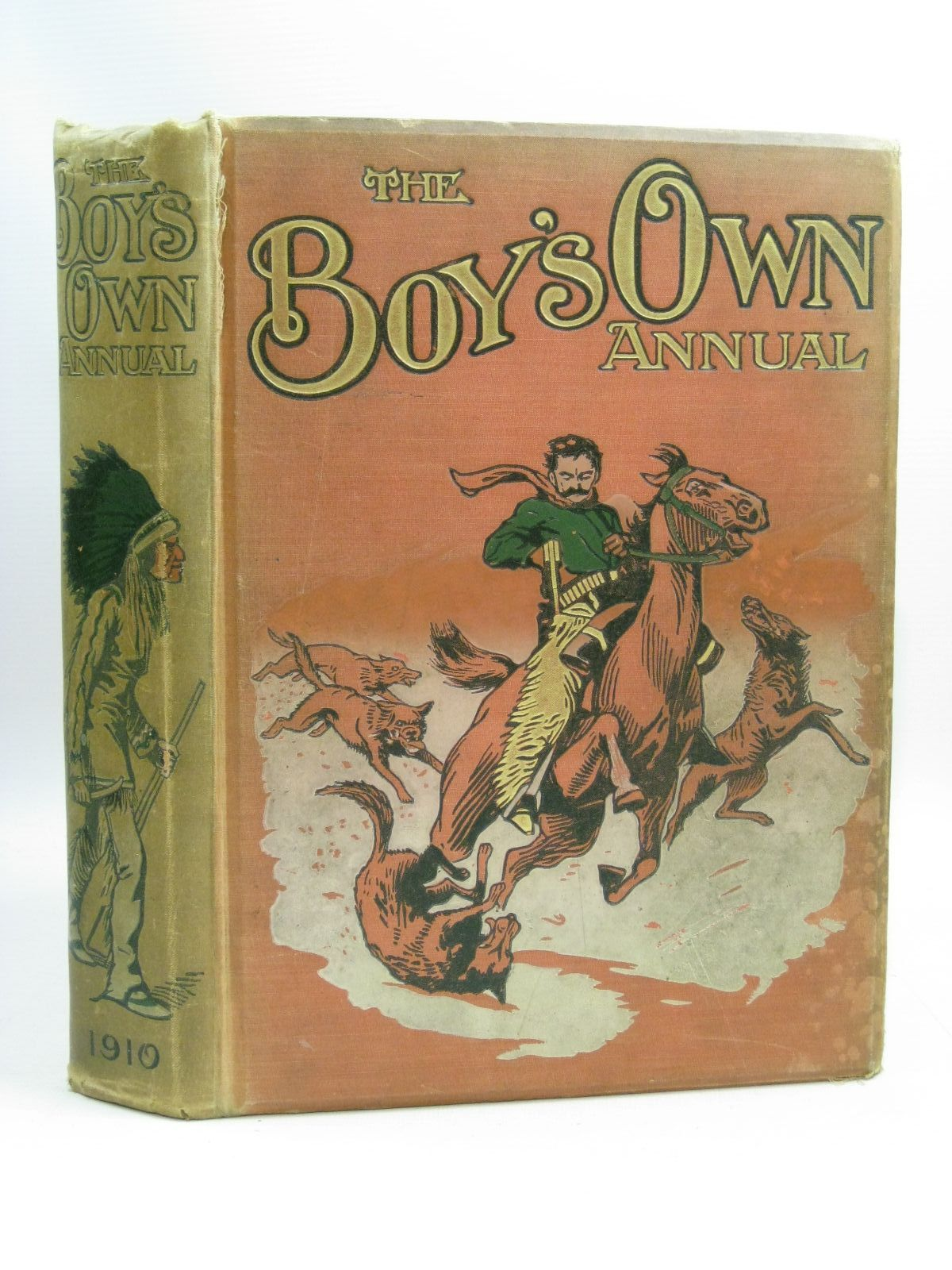 Photo of THE BOY'S OWN ANNUAL VOL 32 written by Bradshaw, Percy V.<br />Hinkson, H.A.<br />Bevan, Tom<br />et al, illustrated by Dixon, Charles<br />Edwards, Lionel<br />Swan, C.E.<br />Earnshaw, Harold<br />et al., published by The Boy's Own Paper (STOCK CODE: 1404811)  for sale by Stella & Rose's Books