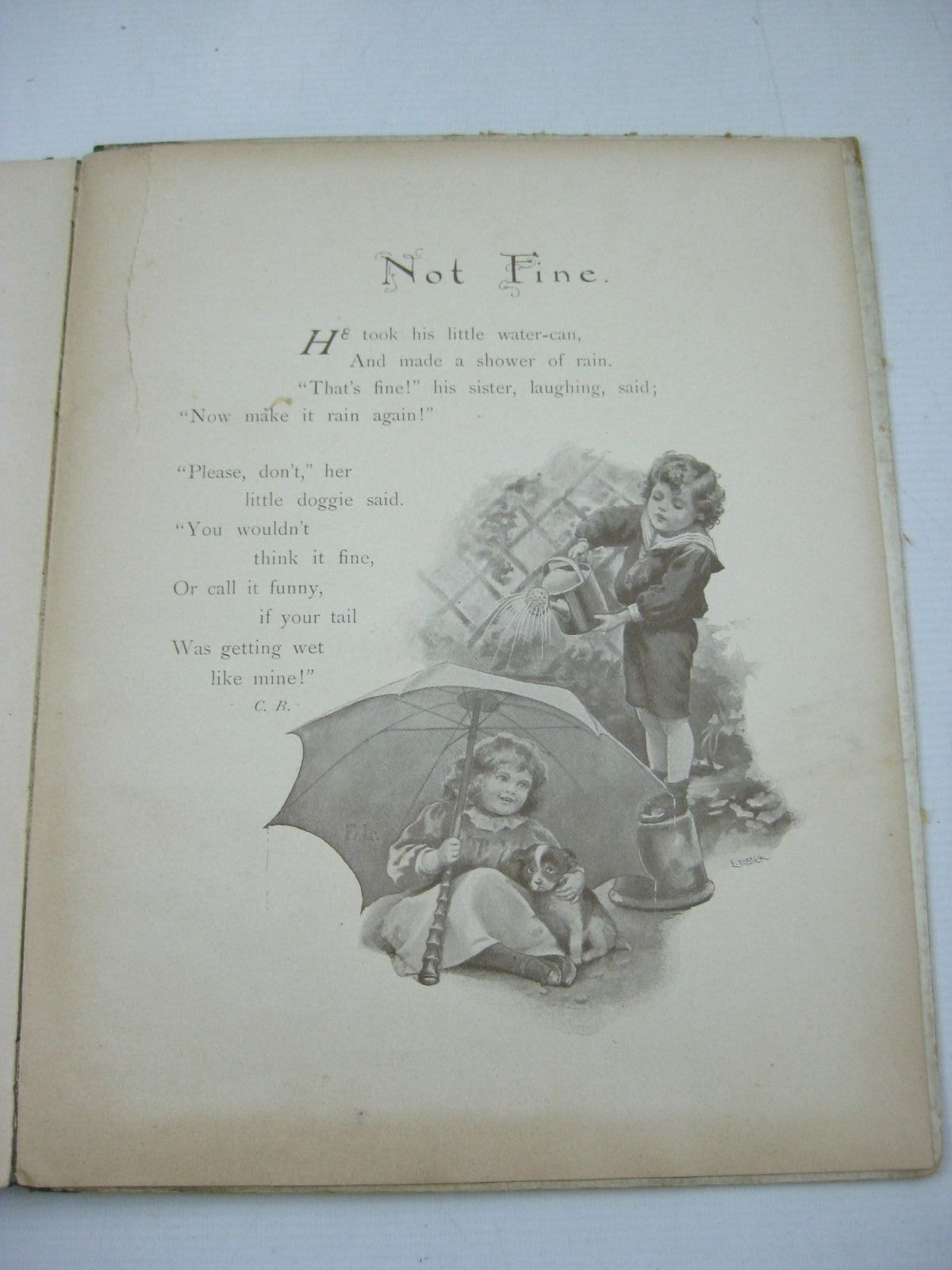 Photo of WHAT THE CHILDREN LIKE written by Weatherly, F.E. Nister, Ernest et al, illustrated by Nister, Ernest published by Ernest Nister (STOCK CODE: 1404845)  for sale by Stella & Rose's Books