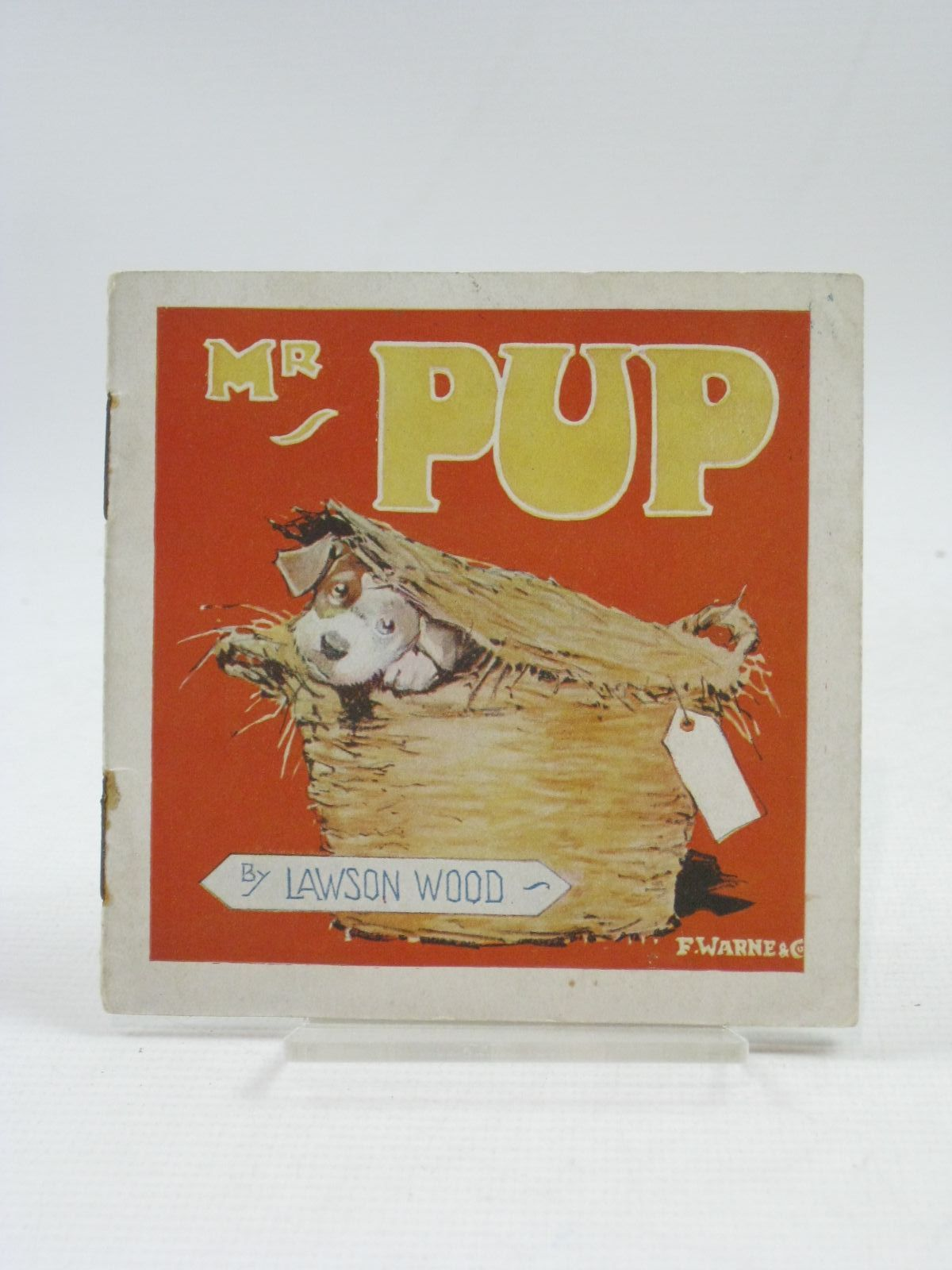 Photo of MR PUP AND HIS ESCAPADE written by Wood, Lawson illustrated by Wood, Lawson published by Frederick Warne & Co Ltd. (STOCK CODE: 1404886)  for sale by Stella & Rose's Books