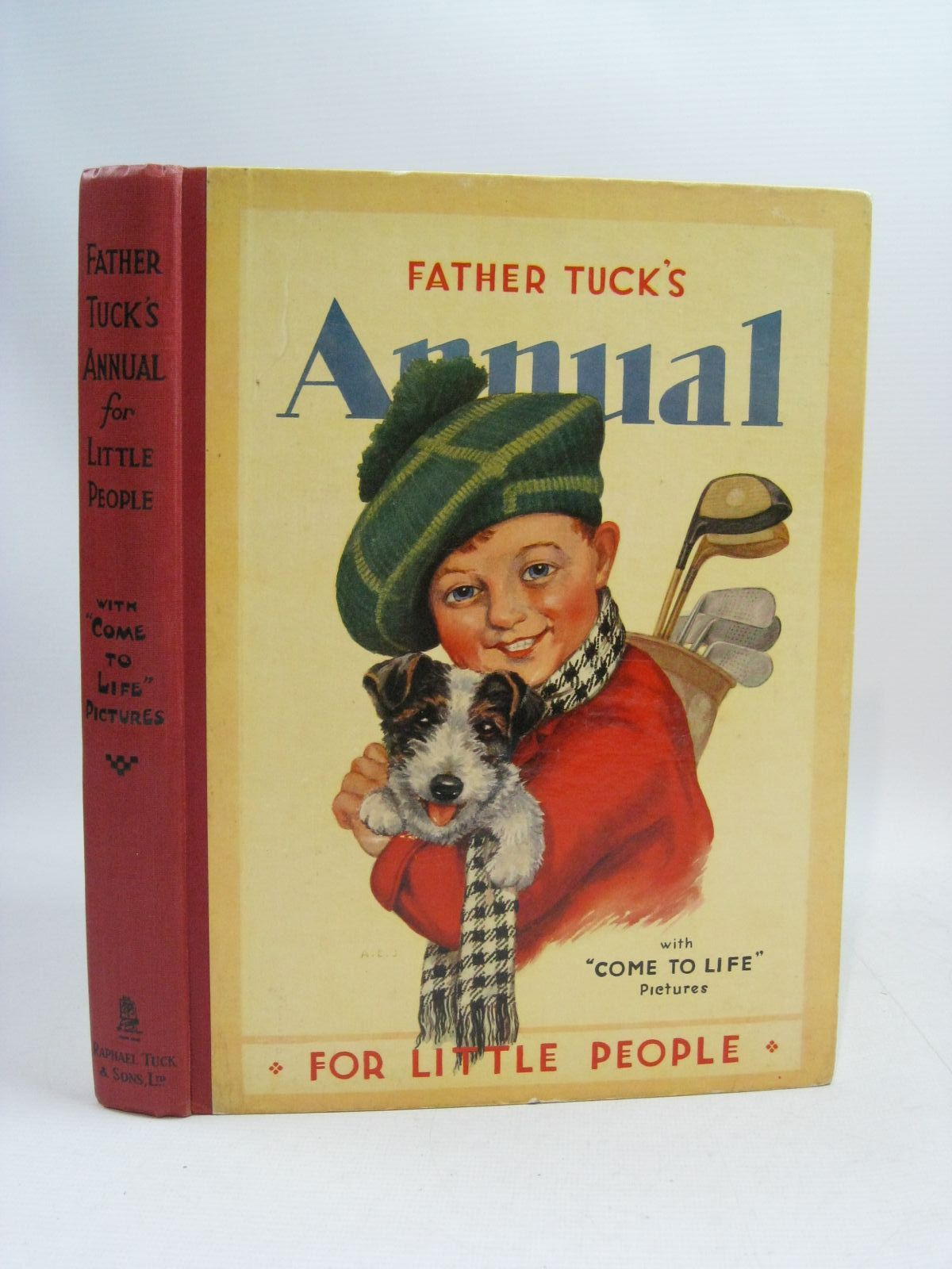 Photo of FATHER TUCK'S ANNUAL FOR LITTLE PEOPLE WITH 'COME TO LIFE' PICTURES written by Woolf, Rose Yeatman<br />Morin, Maud<br />et al, illustrated by Wain, Louis<br />Robinson, G.<br />et al., published by Raphael Tuck &amp; Sons Ltd. (STOCK CODE: 1404893)  for sale by Stella & Rose's Books
