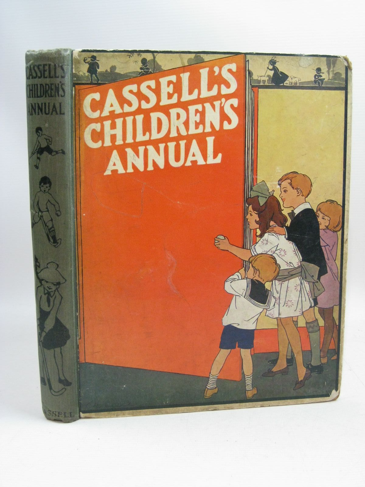 Photo of CASSELL'S CHILDREN'S ANNUAL written by Applin, Arthur<br />Hayes, Nancy M.<br />Chaundler, Christine<br />Herbertson, Agnes Grozier<br />Wood, Eric<br />et al, illustrated by Attwell, Mabel Lucie<br />Anderson, Florence Mary<br />Rees, E. Dorothy<br />et al., published by Cassell &amp; Co. Ltd. (STOCK CODE: 1404898)  for sale by Stella & Rose's Books
