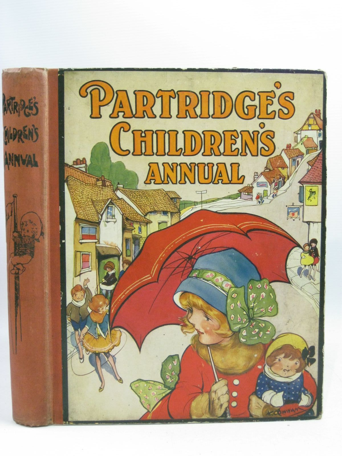 Photo of PARTRIDGE'S CHILDREN'S ANNUAL - 17TH YEAR written by Rutley, Cecily M. Clifford, Maurice Hunter, E.M. illustrated by Neilson, Harry B. Aris, Ernest A. Venus, Sylvia Brisley, Nina K. et al., published by Partridge (STOCK CODE: 1404920)  for sale by Stella & Rose's Books