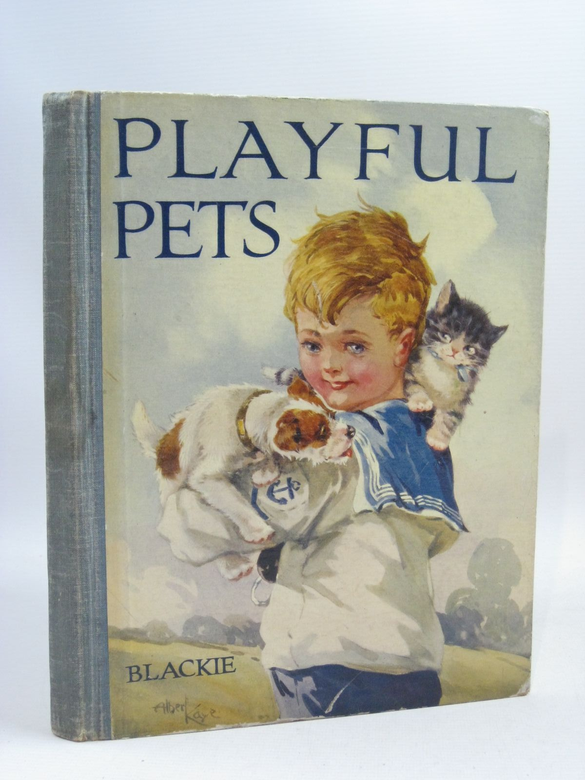 Photo of PLAYFUL PETS written by Kennedy, A.E. illustrated by Kaye, Albert published by Blackie & Son Ltd. (STOCK CODE: 1404951)  for sale by Stella & Rose's Books