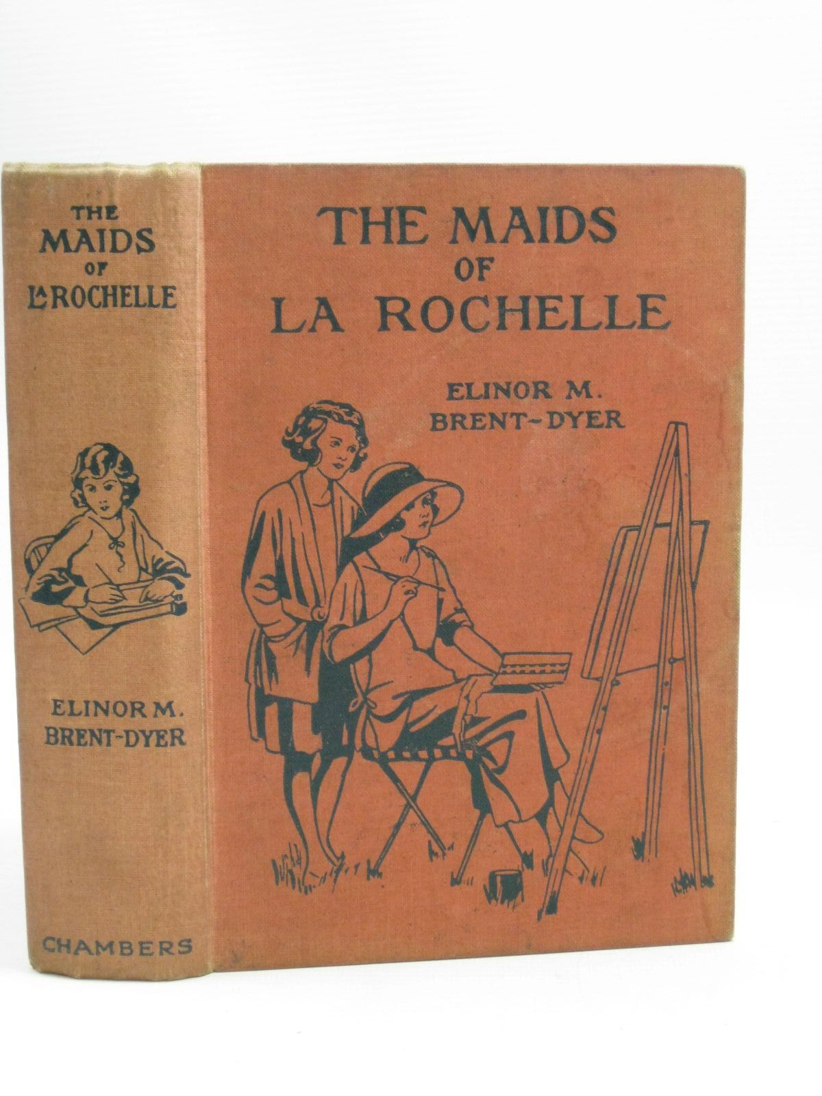 Photo of THE MAIDS OF LA ROCHELLE written by Brent-Dyer, Elinor M. illustrated by Brisley, Nina K. published by W. & R. Chambers Limited (STOCK CODE: 1405186)  for sale by Stella & Rose's Books