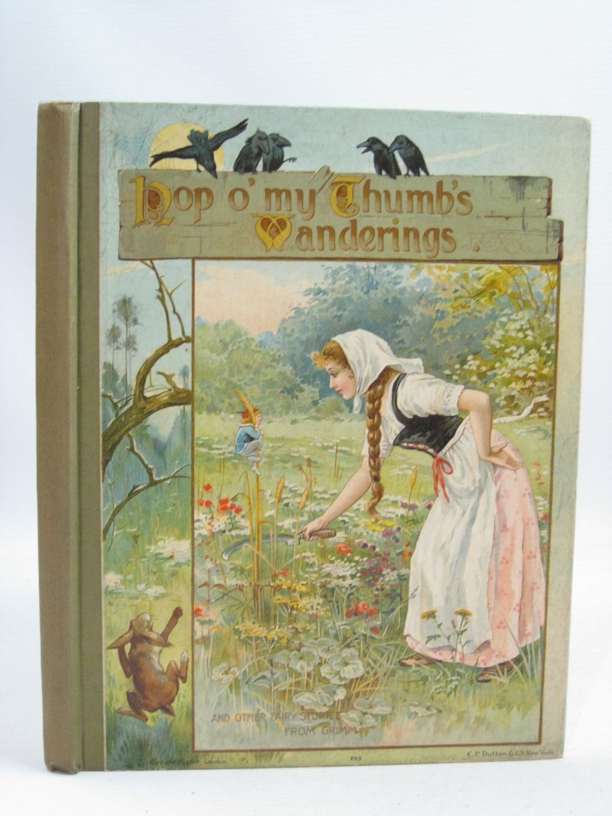 Photo of HOP O' MY THUMB'S WANDERINGS written by Grimm, Brothers illustrated by Lance, E. et al., published by Ernest Nister (STOCK CODE: 1405210)  for sale by Stella & Rose's Books