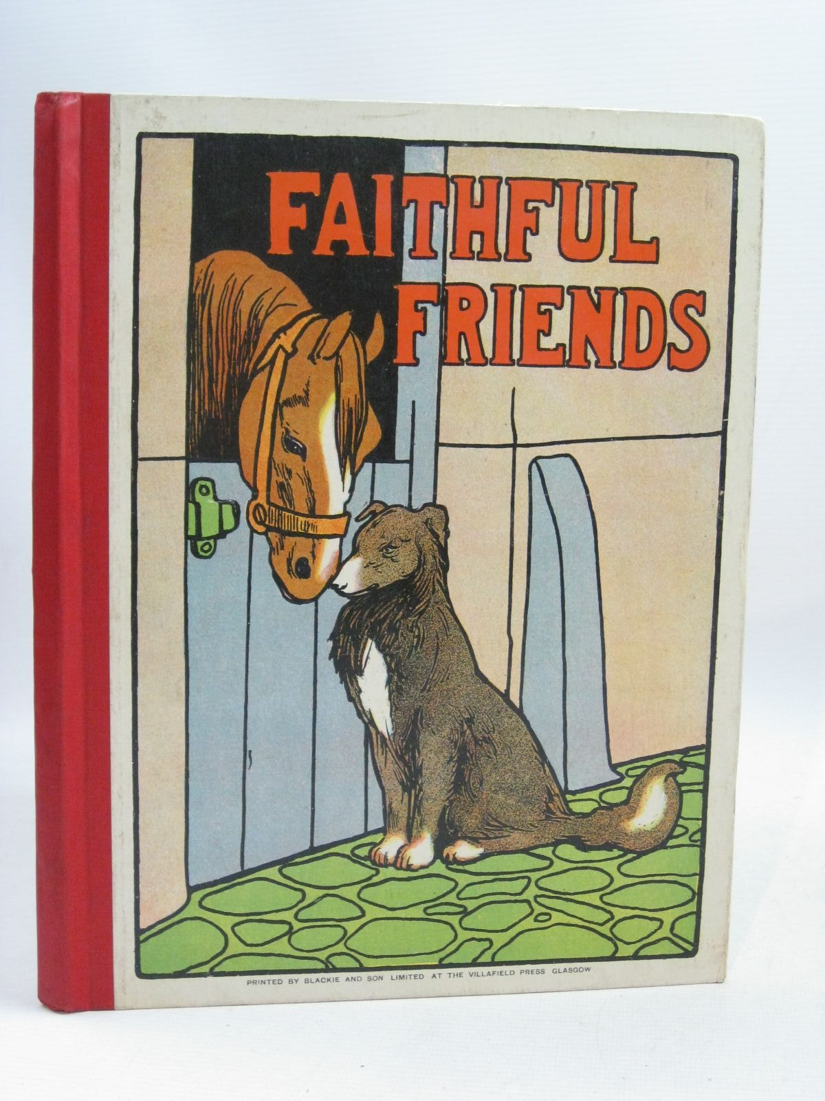 Photo of FAITHFUL FRIENDS written by Bingham, Clifton<br />et al, illustrated by Aldin, Cecil<br />Rackham, Arthur<br />Wain, Louis<br />et al., published by Blackie &amp; Son Ltd. (STOCK CODE: 1405213)  for sale by Stella & Rose's Books