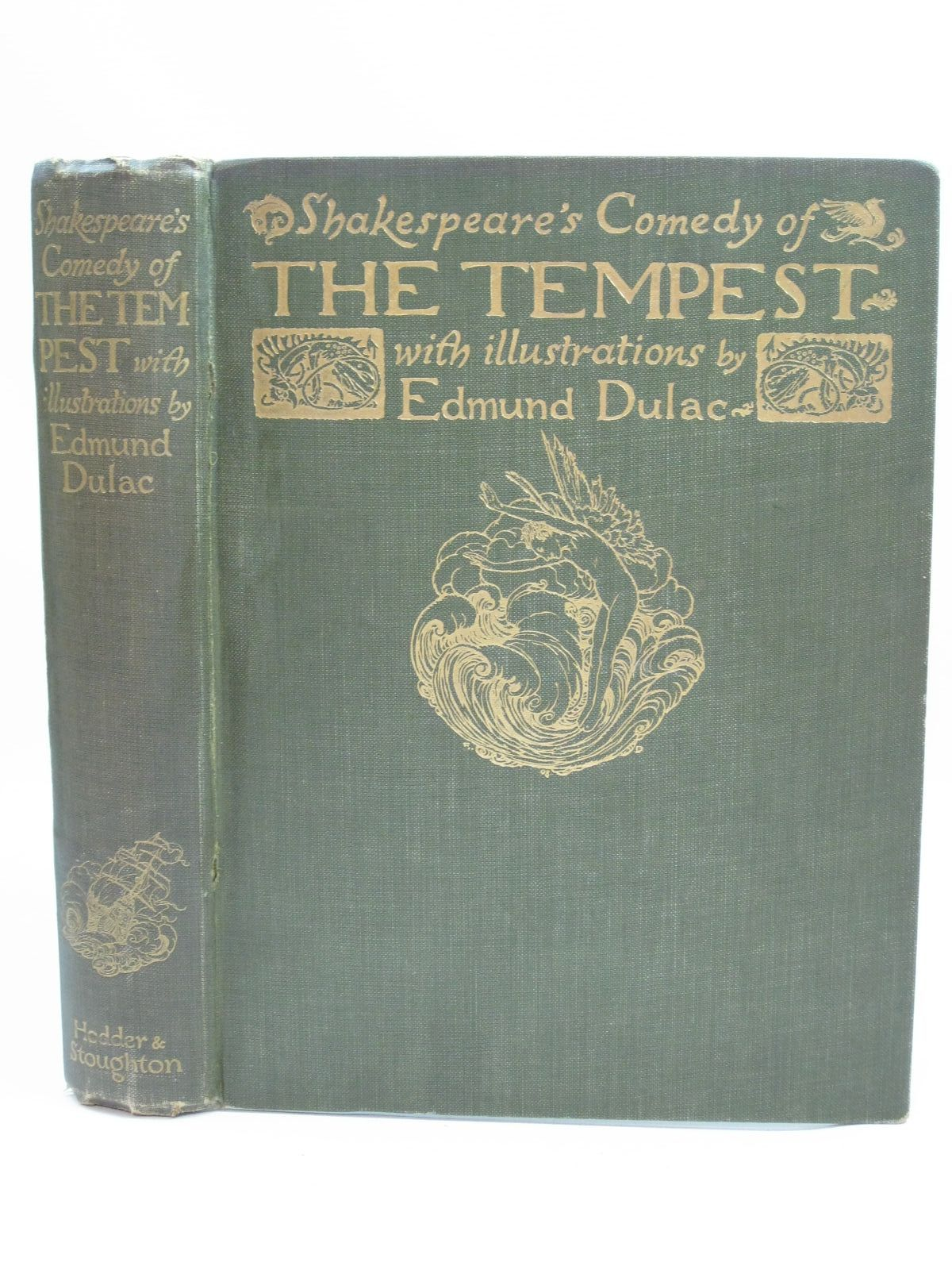 Photo of SHAKESPEARE'S COMEDY OF THE TEMPEST written by Shakespeare, William illustrated by Dulac, Edmund published by Hodder & Stoughton (STOCK CODE: 1405218)  for sale by Stella & Rose's Books