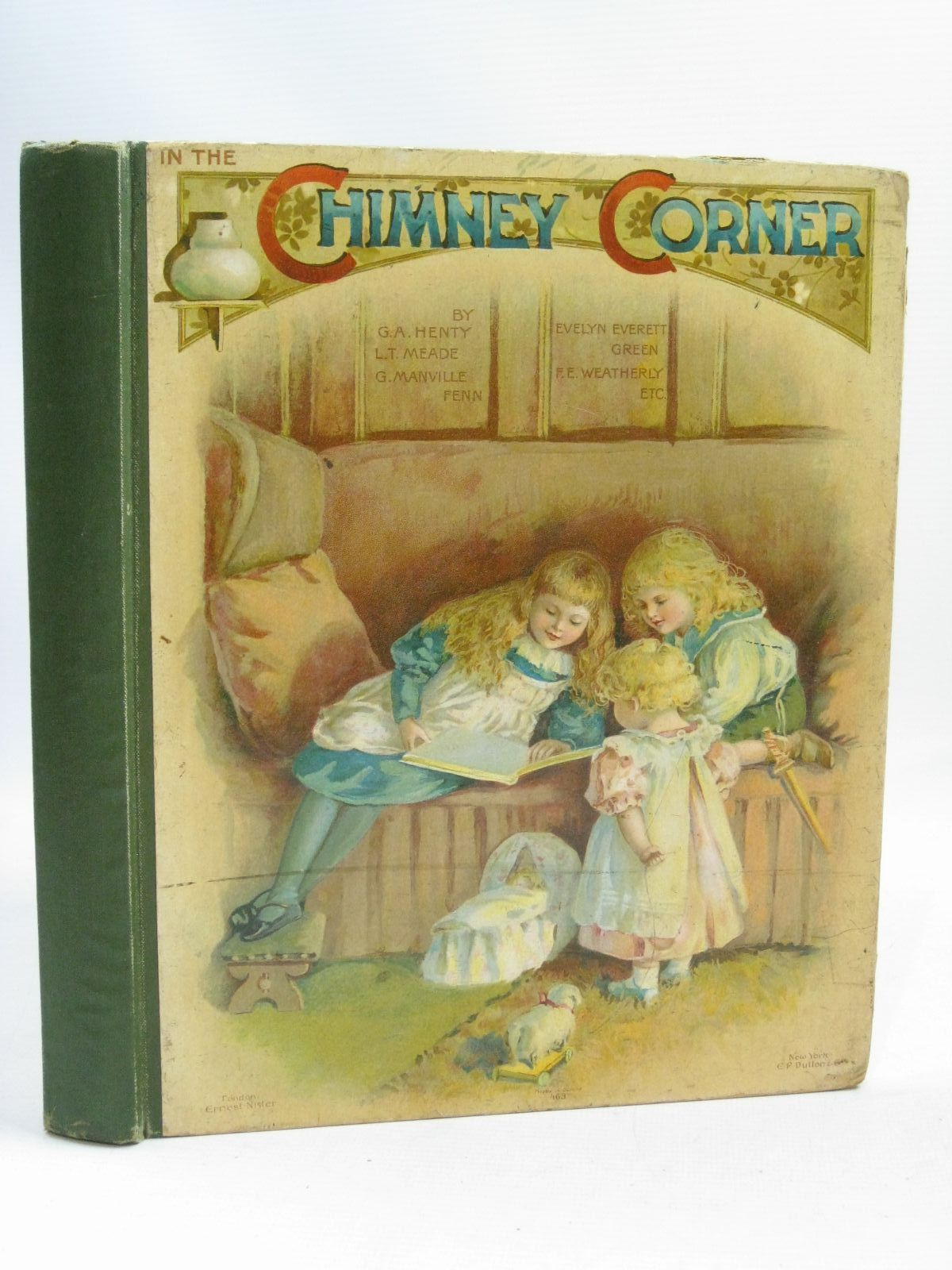 Photo of IN THE CHIMNEY CORNER written by Henty, G.A. Meade, L.T. Everett-Green, Evelyn et al, illustrated by Dennis, Ada Hardy, E. Stuart Robinson, Hilda K. et al., published by Ernest Nister (STOCK CODE: 1405233)  for sale by Stella & Rose's Books