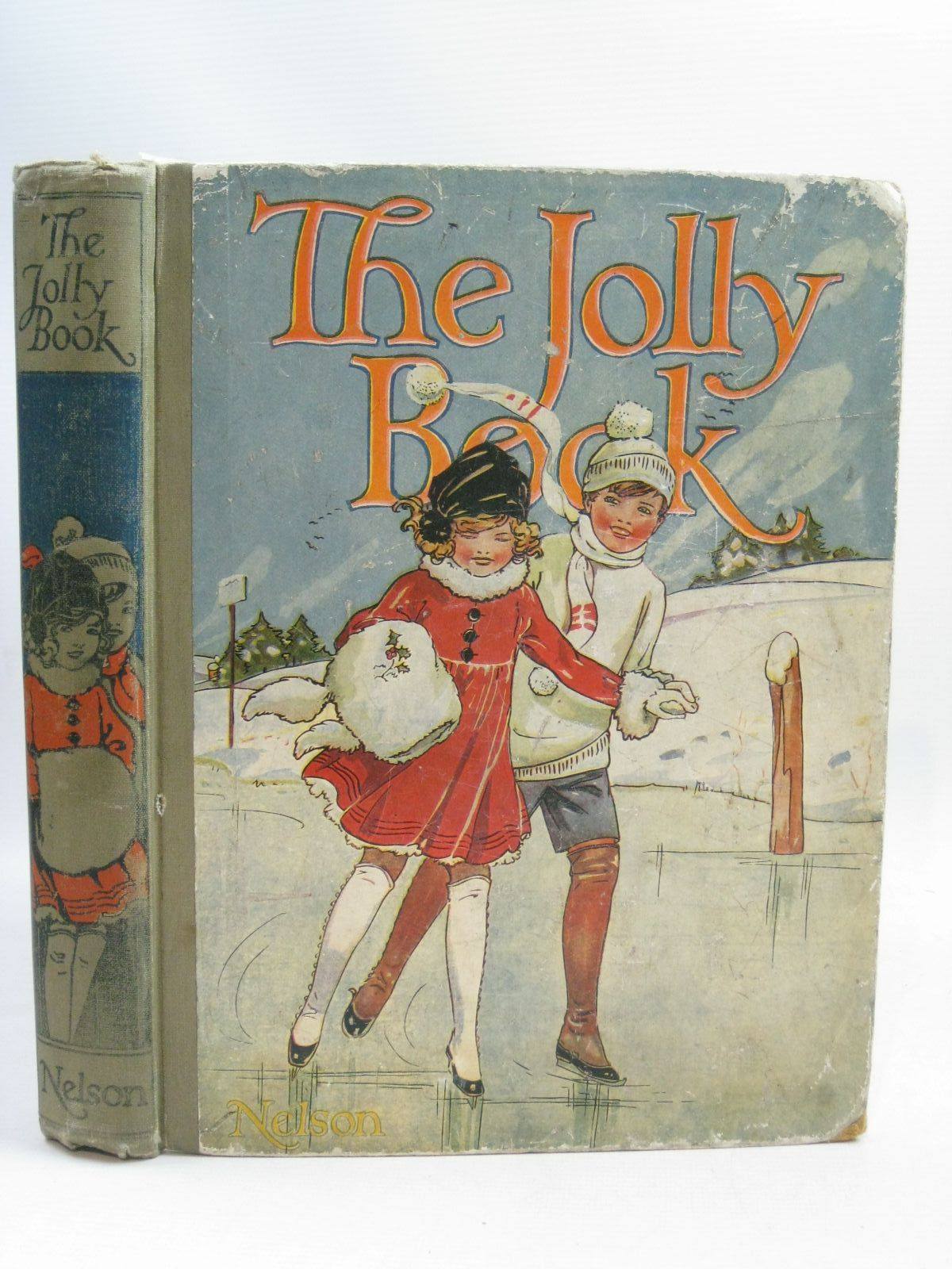 Photo of THE JOLLY BOOK - ELEVENTH YEAR written by Avery, Harold Brazil, Angela Talbot, Ethel et al, illustrated by Wood, Lawson Studdy, G.E. Earnshaw, Harold Anderson, Anne et al., published by Thomas Nelson & Sons (STOCK CODE: 1405242)  for sale by Stella & Rose's Books