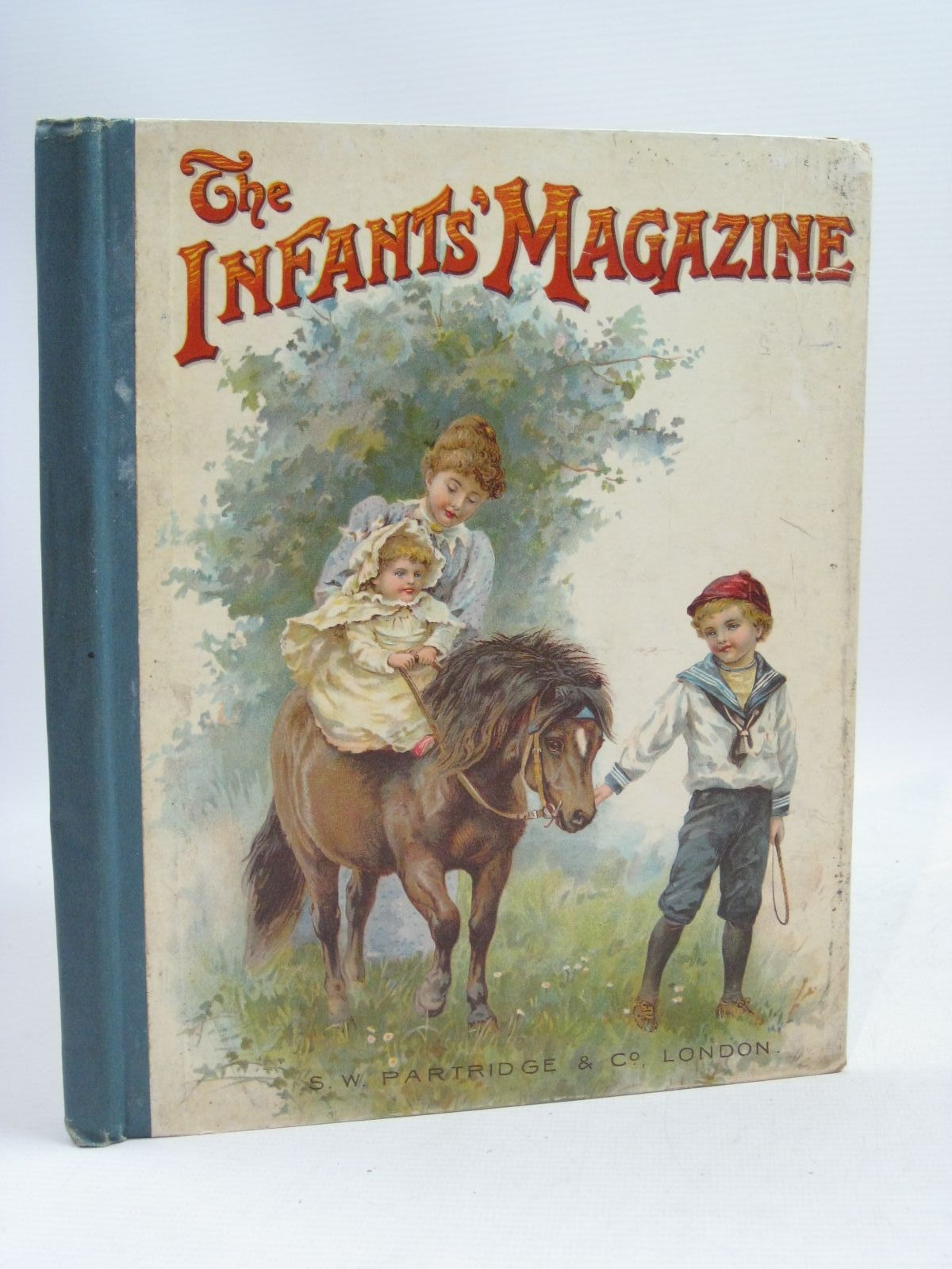 Photo of THE INFANTS' MAGAZINE 1901 written by Lea, John et al, illustrated by Wain, Louis et al., published by S.W. Partridge & Co. (STOCK CODE: 1405283)  for sale by Stella & Rose's Books