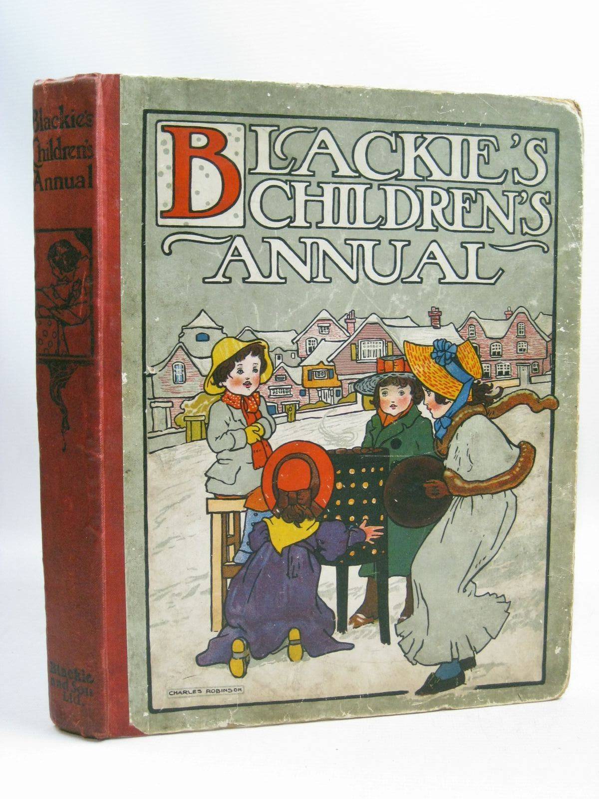 Photo of BLACKIE'S CHILDREN'S ANNUAL 3RD YEAR written by Strang, Herbert<br />Bingham, Clifton<br />Herbertson, Agnes Grozier<br />Morris, Alice Talwin illustrated by Robinson, Charles<br />Hassall, John published by Blackie &amp; Son Ltd. (STOCK CODE: 1405424)  for sale by Stella & Rose's Books