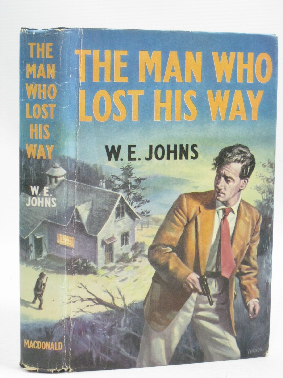 Photo of THE MAN WHO LOST HIS WAY written by Johns, W.E. published by MacDonald & Co. (STOCK CODE: 1405425)  for sale by Stella & Rose's Books