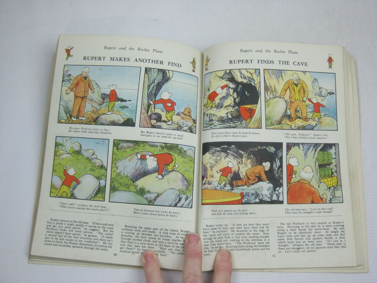 Photo of RUPERT ANNUAL 1946 - THE NEW RUPERT BOOK written by Bestall, Alfred illustrated by Bestall, Alfred published by Daily Express (STOCK CODE: 1405467)  for sale by Stella & Rose's Books