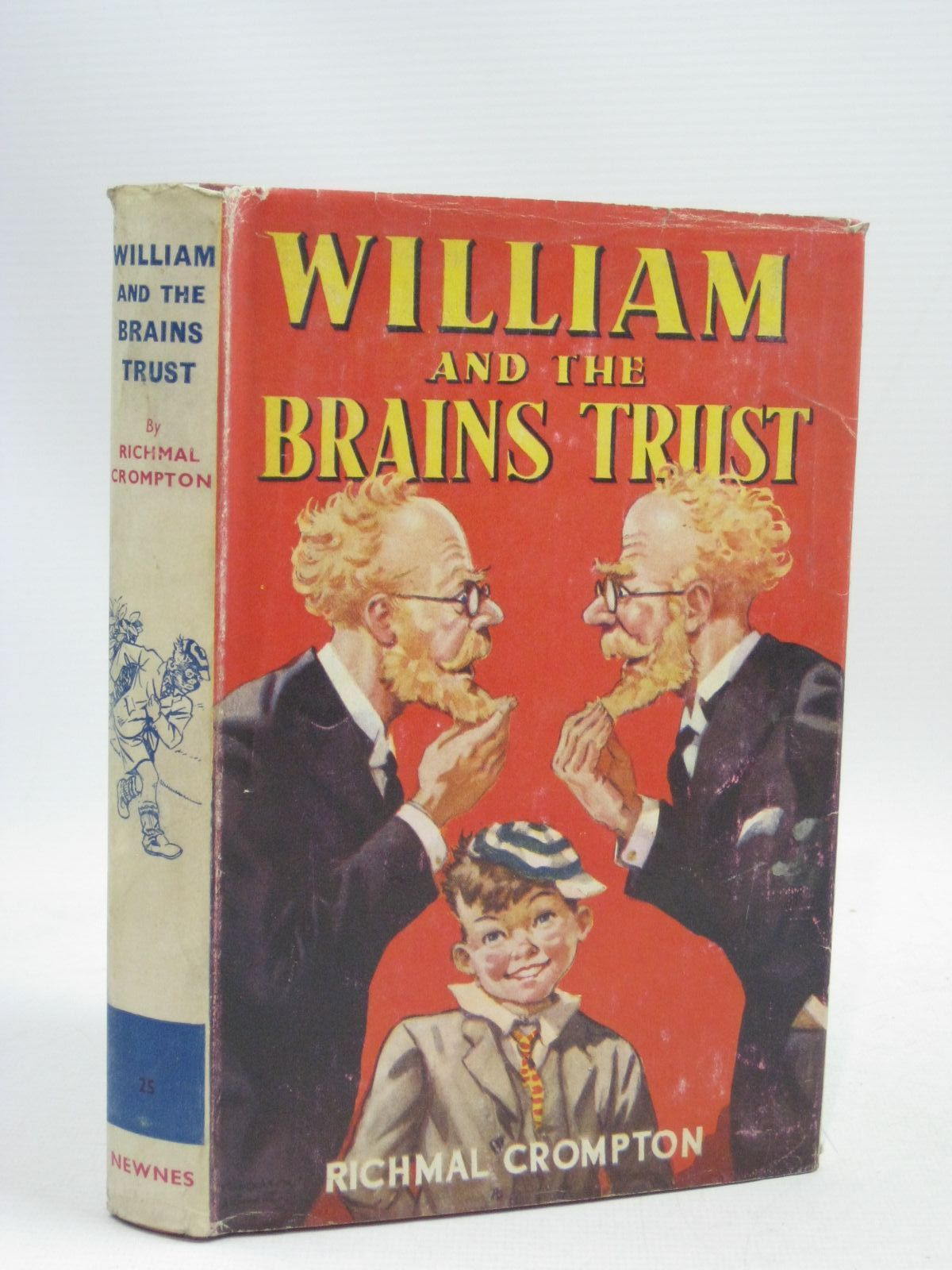 Photo of WILLIAM AND THE BRAINS TRUST written by Crompton, Richmal illustrated by Henry, Thomas published by George Newnes Limited (STOCK CODE: 1405552)  for sale by Stella & Rose's Books