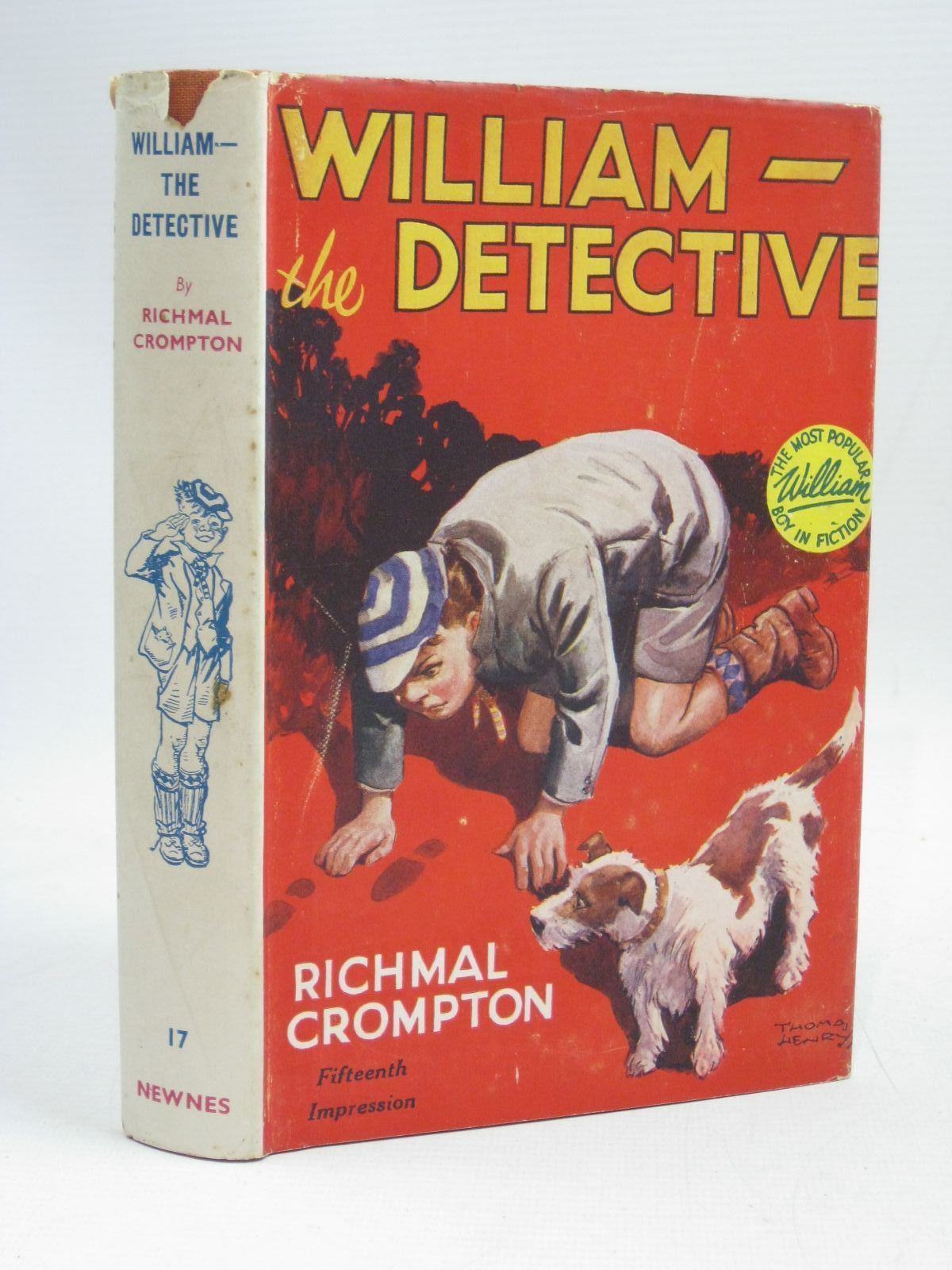 Photo of WILLIAM THE DETECTIVE written by Crompton, Richmal illustrated by Henry, Thomas published by George Newnes Limited (STOCK CODE: 1405566)  for sale by Stella & Rose's Books