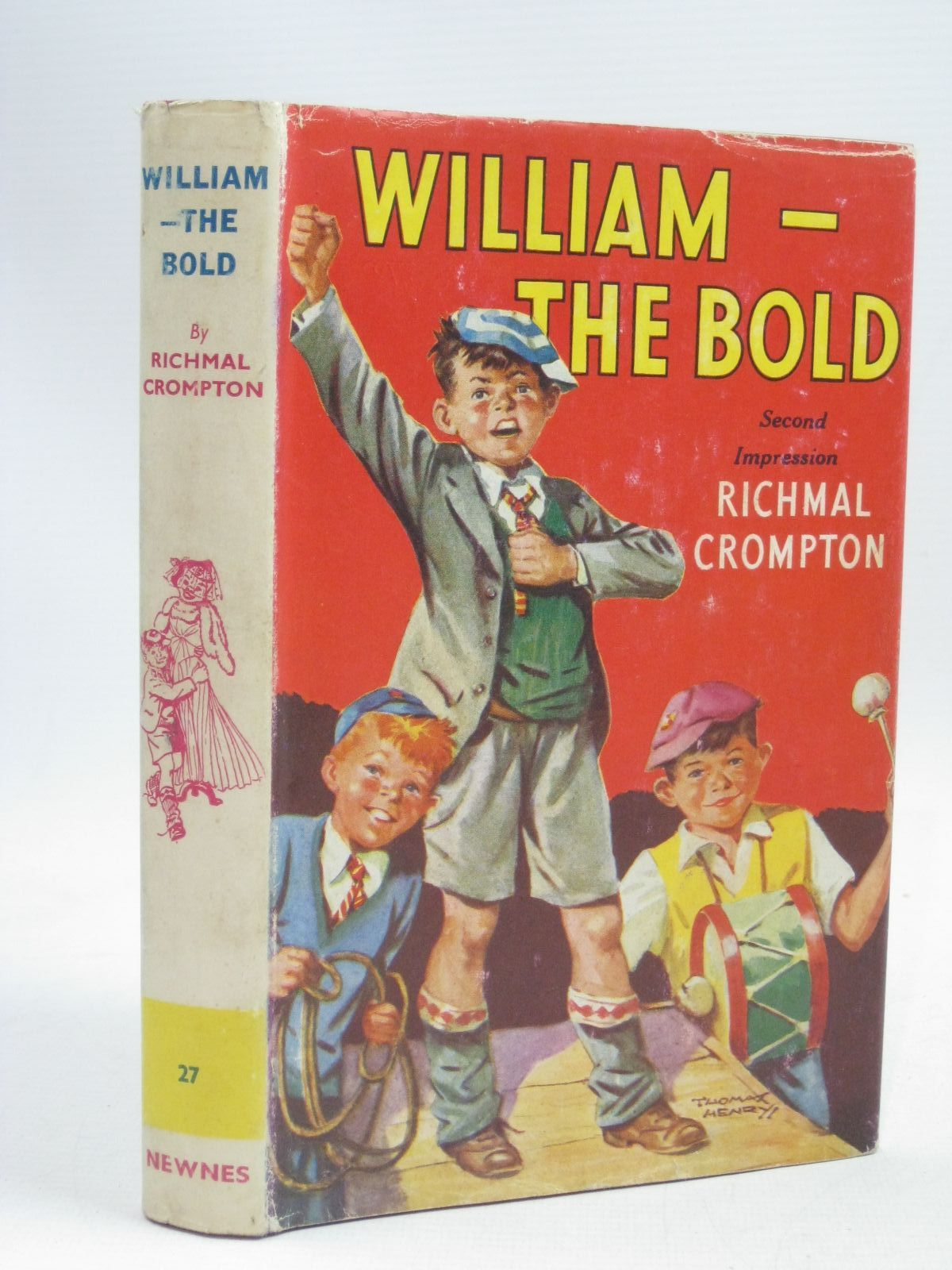 Photo of WILLIAM-THE BOLD written by Crompton, Richmal illustrated by Henry, Thomas published by George Newnes Ltd. (STOCK CODE: 1405567)  for sale by Stella & Rose's Books