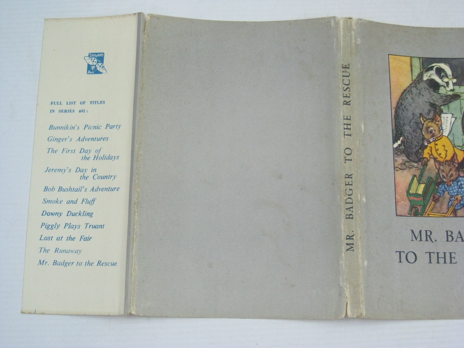 Photo of MR. BADGER TO THE RESCUE written by Macgregor, A.J.<br />Perring, W. illustrated by Macgregor, A.J. published by Wills &amp; Hepworth Ltd. (STOCK CODE: 1405594)  for sale by Stella & Rose's Books