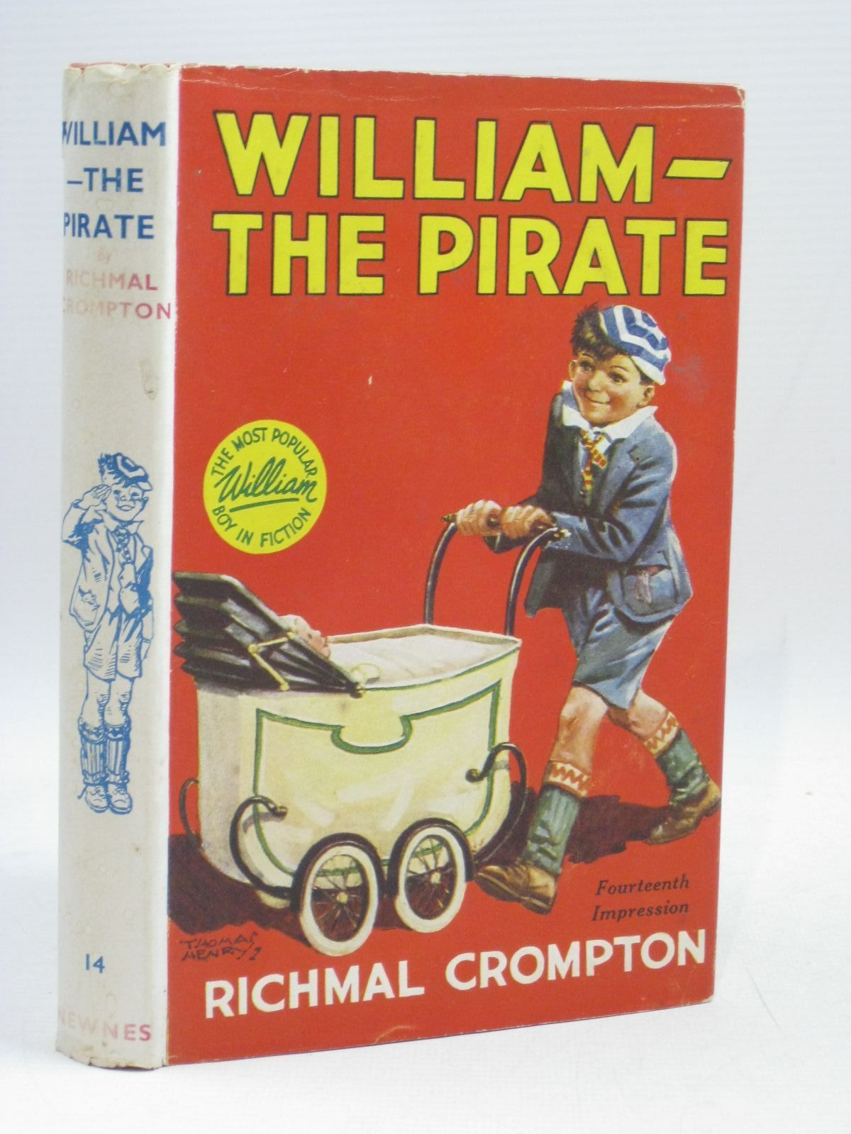 Photo of WILLIAM THE PIRATE written by Crompton, Richmal illustrated by Henry, Thomas published by George Newnes Limited (STOCK CODE: 1405600)  for sale by Stella & Rose's Books