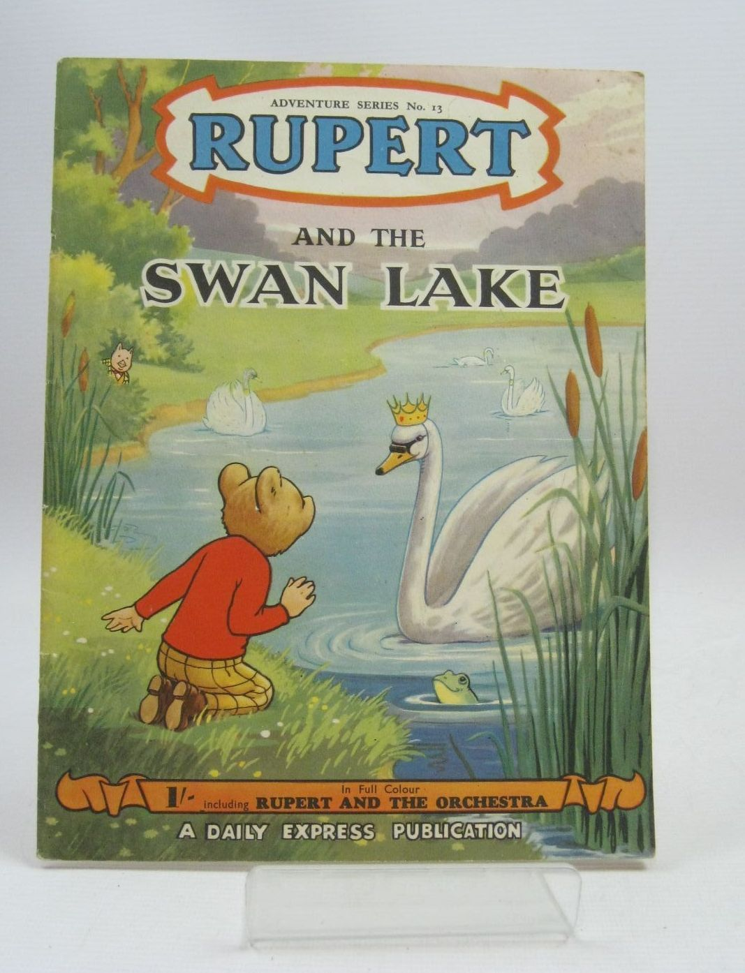 Photo of RUPERT ADVENTURE SERIES No. 13 - RUPERT AND THE SWAN LAKE- Stock Number: 1405622