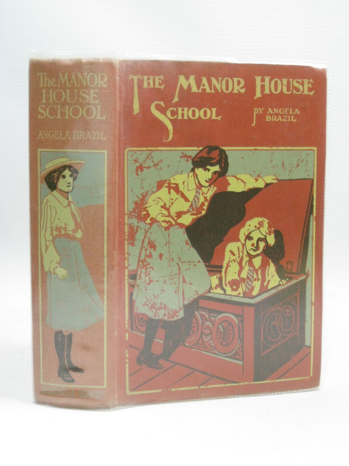 Photo of THE MANOR HOUSE SCHOOL written by Brazil, Angela illustrated by Moorsom, F.G. published by Blackie & Son Ltd. (STOCK CODE: 1405640)  for sale by Stella & Rose's Books