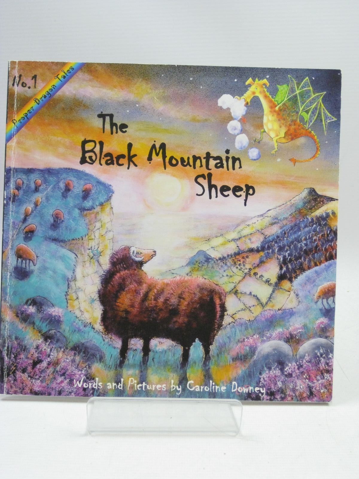 Photo of THE BLACK MOUNTAIN SHEEP written by Downey, Caroline illustrated by Downey, Caroline published by Caroline Downey (STOCK CODE: 1405664)  for sale by Stella & Rose's Books