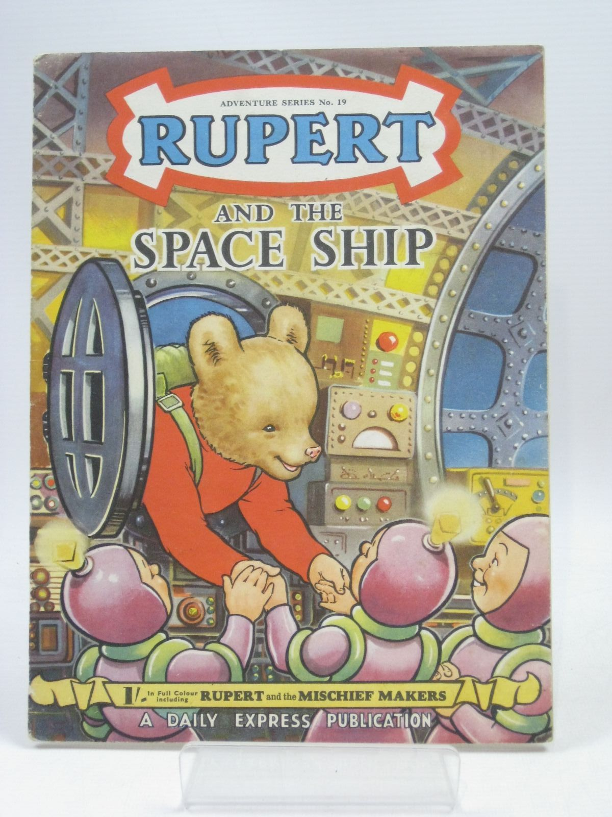 Photo of RUPERT ADVENTURE SERIES No. 19 - RUPERT AND THE SPACE SHIP- Stock Number: 1405713