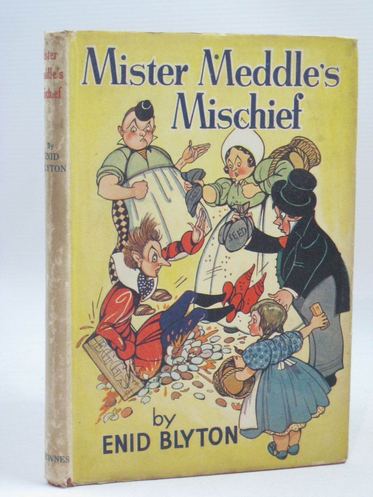 Photo of MISTER MEDDLE'S MISCHIEF written by Blyton, Enid illustrated by Mercer, Joyce<br />Turvey, Rosalind M. published by George Newnes Ltd. (STOCK CODE: 1405747)  for sale by Stella & Rose's Books