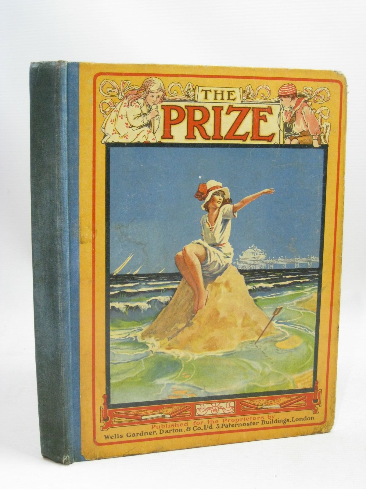 Photo of THE PRIZE FOR GIRLS AND BOYS published by Wells Gardner, Darton & Co. Limited (STOCK CODE: 1405767)  for sale by Stella & Rose's Books