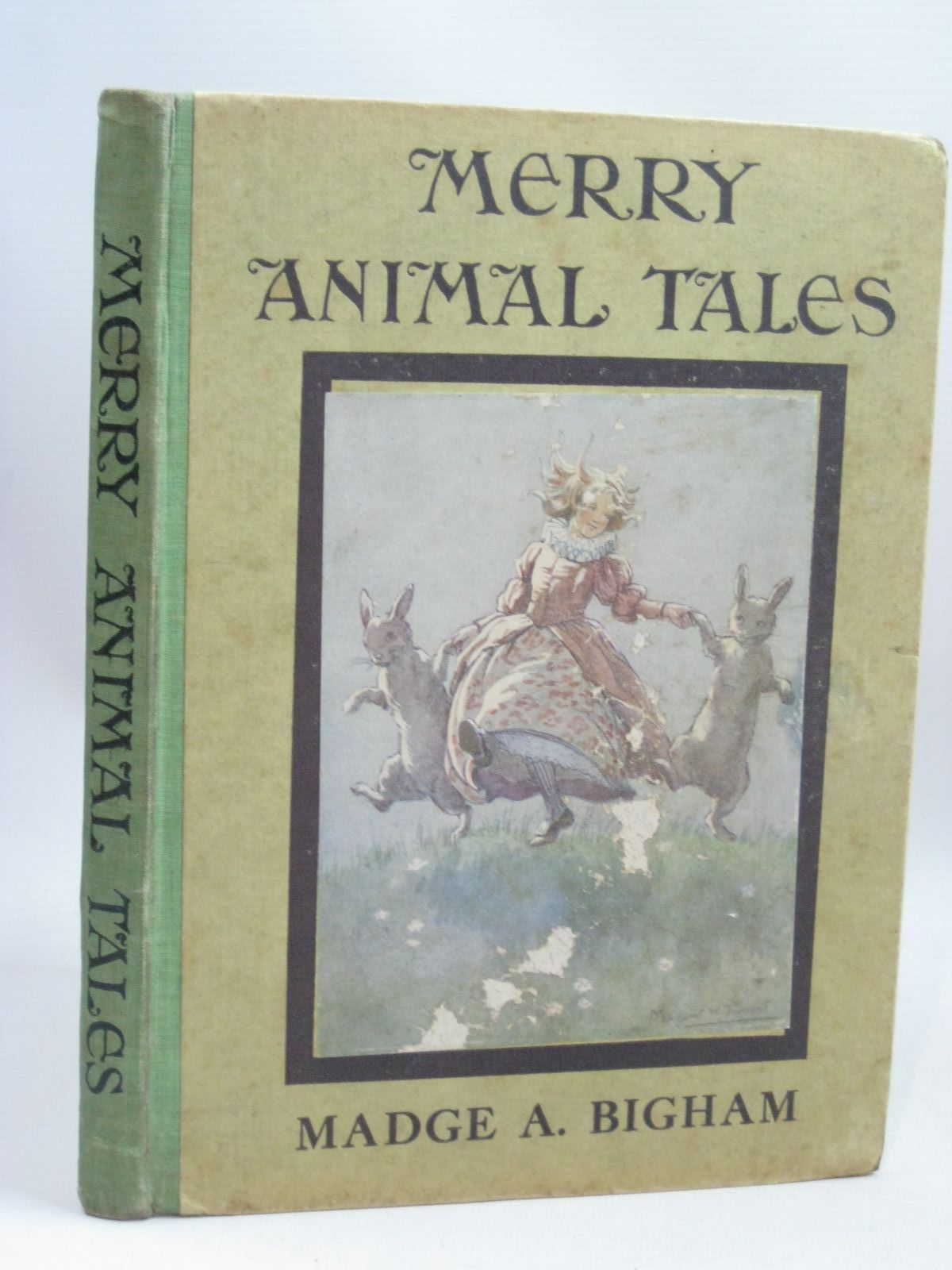 Photo of MERRY ANIMAL TALES written by Bigham, Madge A. illustrated by Tarrant, Margaret published by George G. Harrap & Company (STOCK CODE: 1405820)  for sale by Stella & Rose's Books