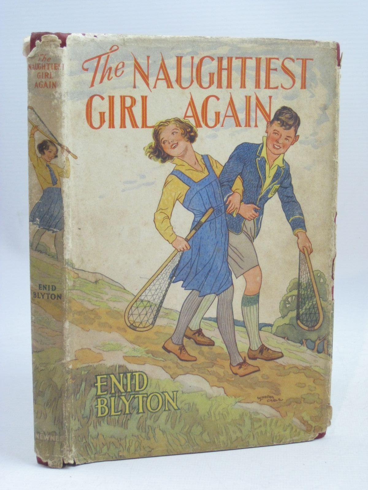 Photo of THE NAUGHTIEST GIRL AGAIN written by Blyton, Enid illustrated by Cable, W. Lindsay published by George Newnes Ltd. (STOCK CODE: 1405854)  for sale by Stella & Rose's Books