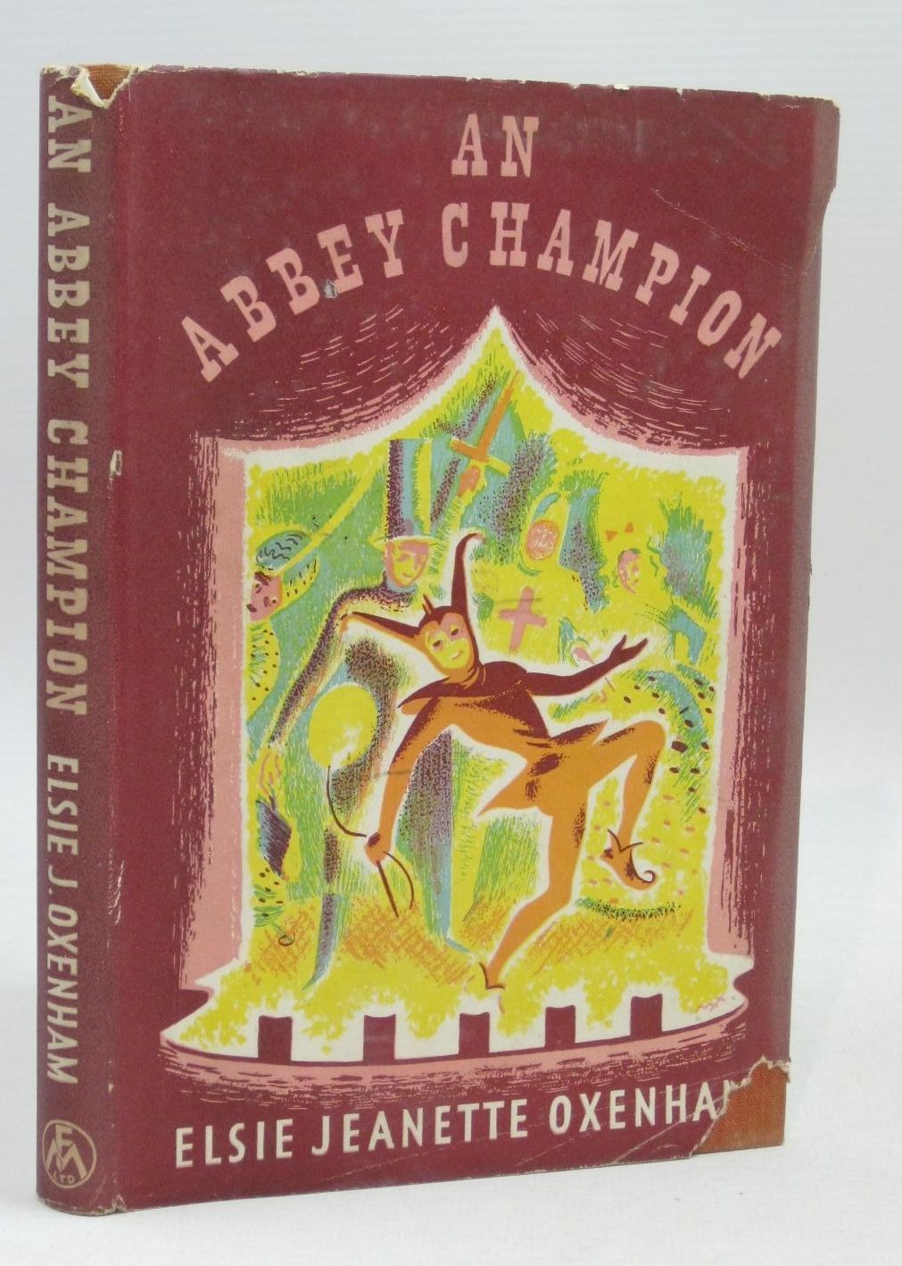 Photo of AN ABBEY CHAMPION written by Oxenham, Elsie J. illustrated by Horder, Margaret published by Frederick Muller Ltd. (STOCK CODE: 1405856)  for sale by Stella & Rose's Books