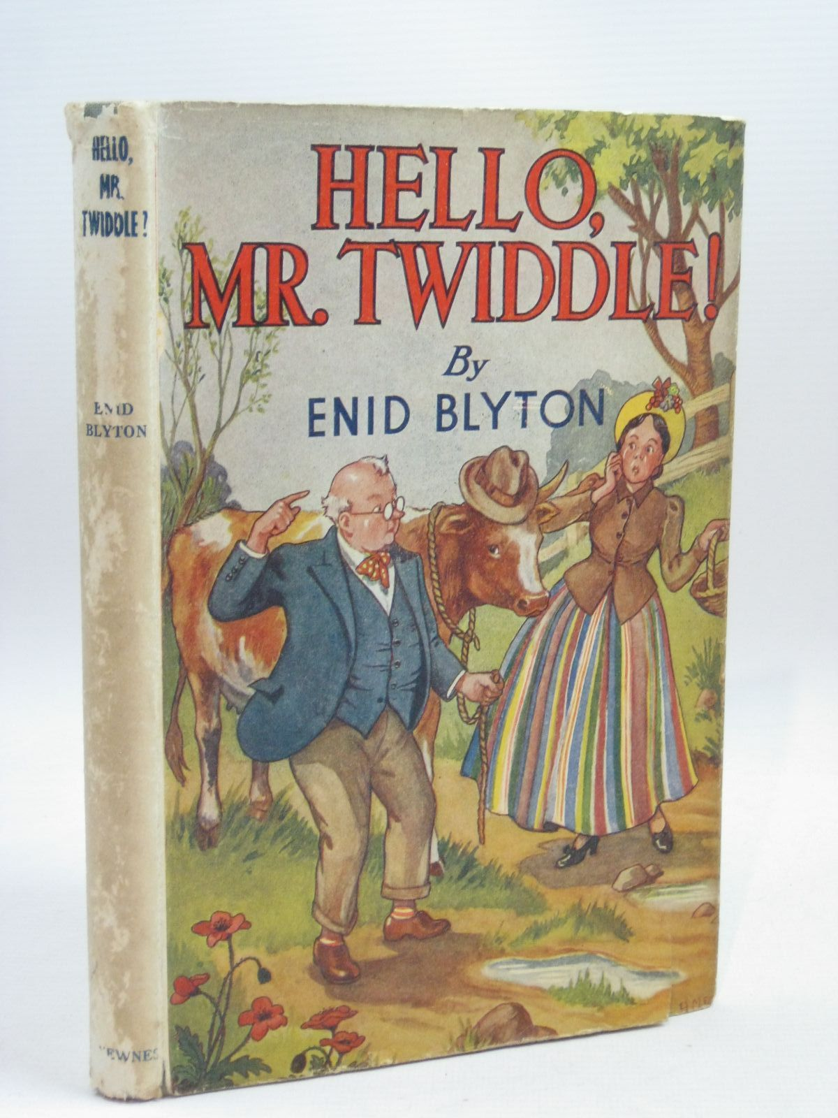 Photo of HELLO, MR. TWIDDLE! written by Blyton, Enid illustrated by McGavin, Hilda published by George Newnes Ltd. (STOCK CODE: 1405857)  for sale by Stella & Rose's Books
